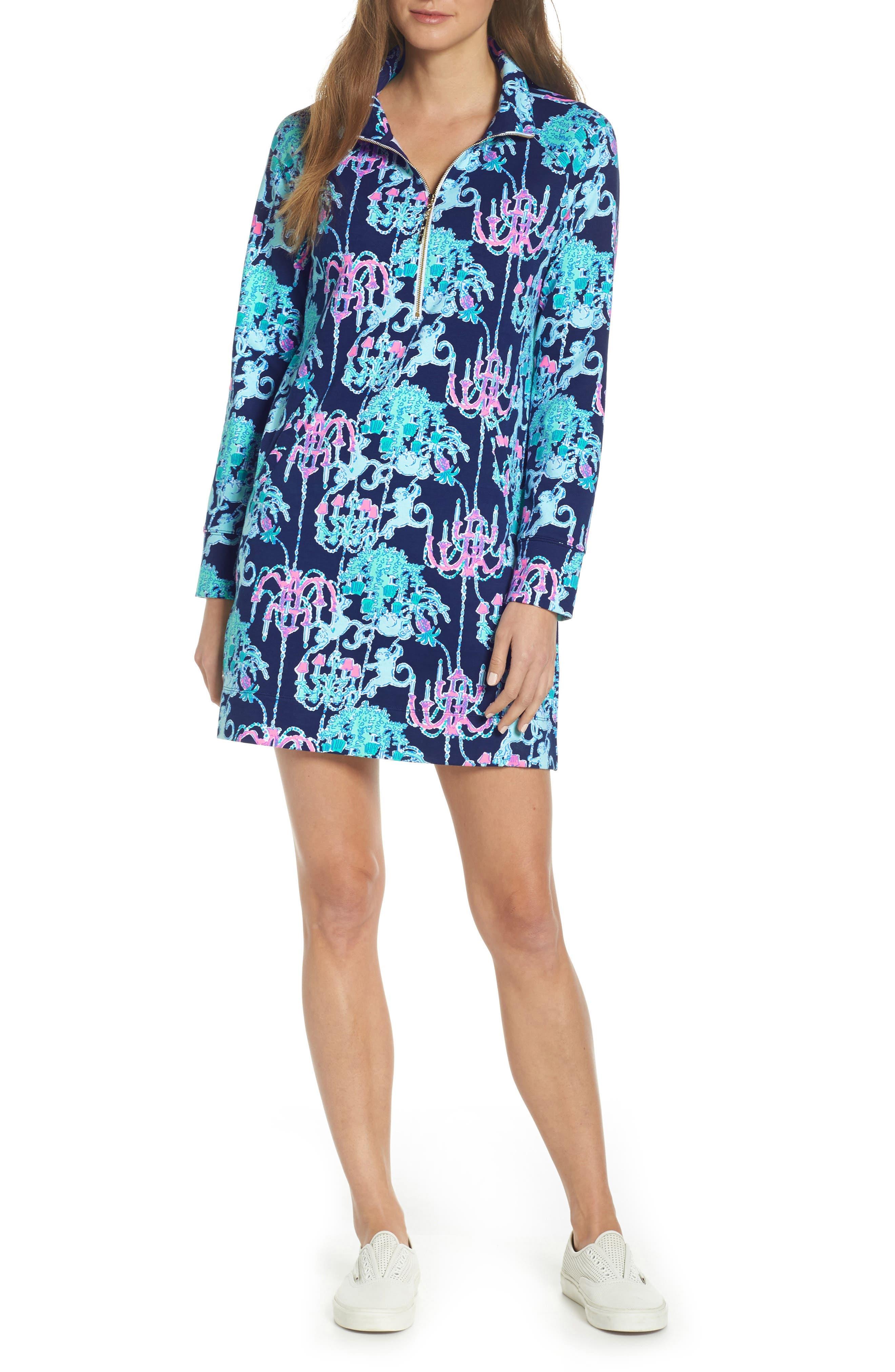 Lilly Pulitzer Skipper Upf 50+ Dress, Blue