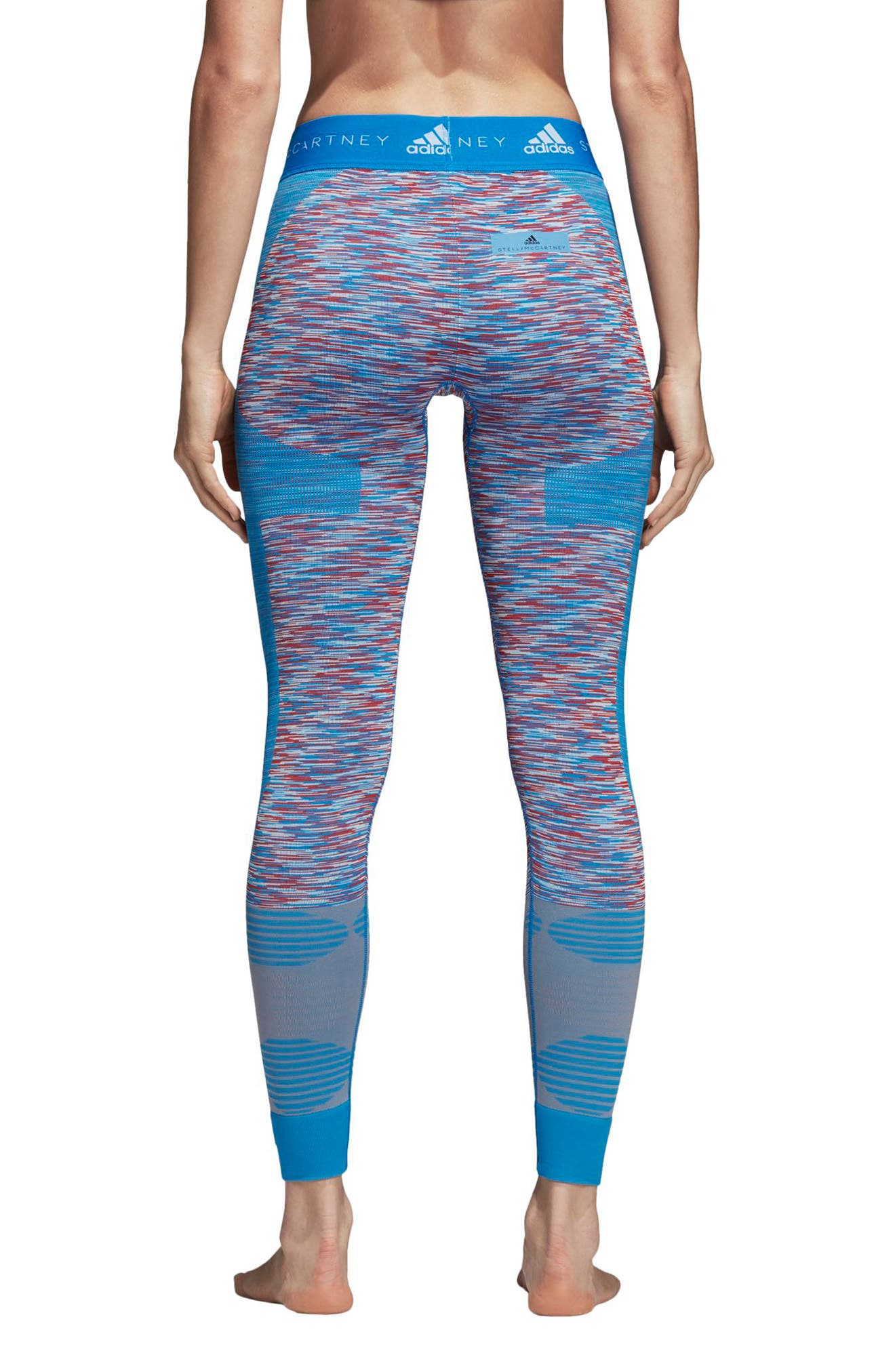 Yoga Seamless Space Dye Leggings,                             Alternate thumbnail 2, color,                             400