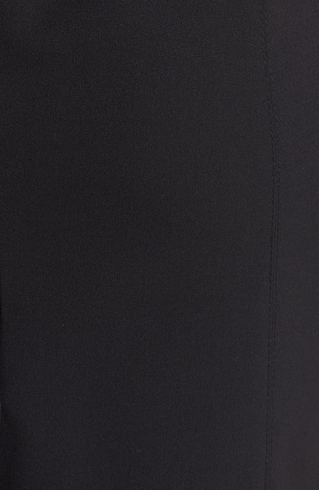 'Mallory' All Season Stretch Sheath Dress,                             Alternate thumbnail 3, color,                             001