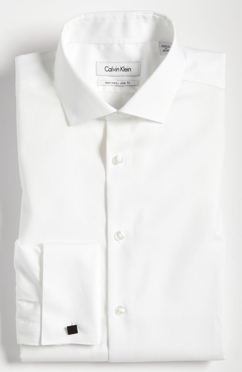 Calvin Klein Slim Fit Non Iron Dress Shirt Nordstrom