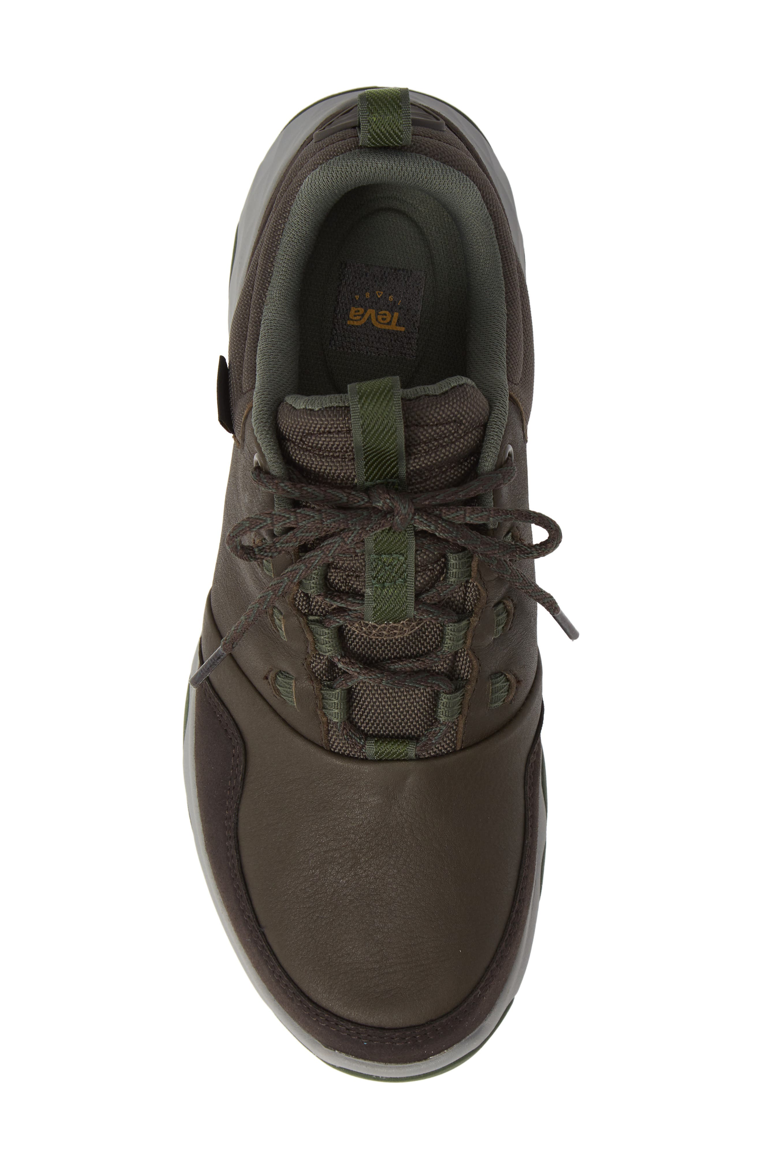 Arrowood Waterproof Sneaker,                             Alternate thumbnail 5, color,                             BLACK OLIVE LEATHER