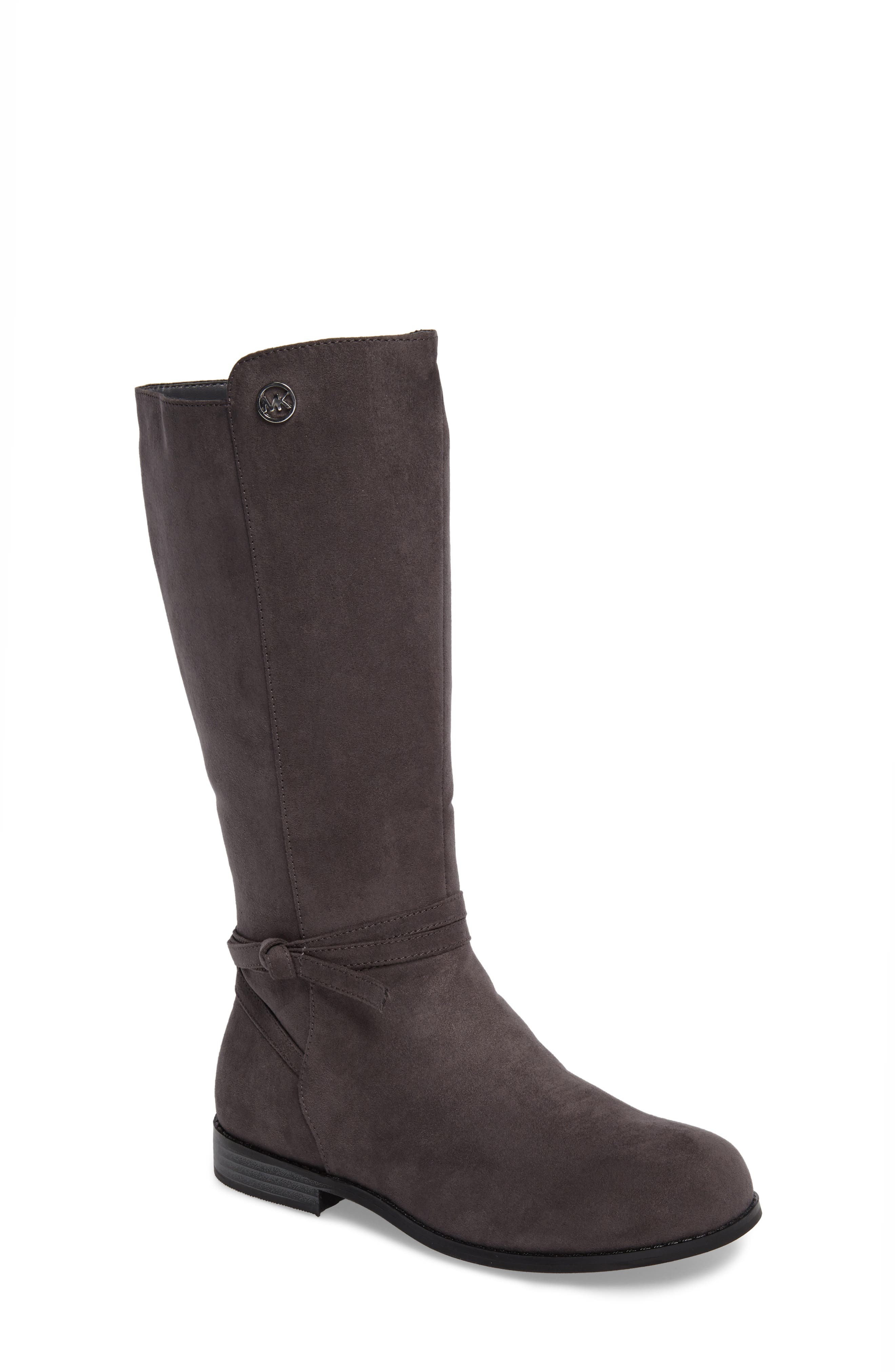 Emma Carter Knotted Boot,                             Main thumbnail 1, color,                             051