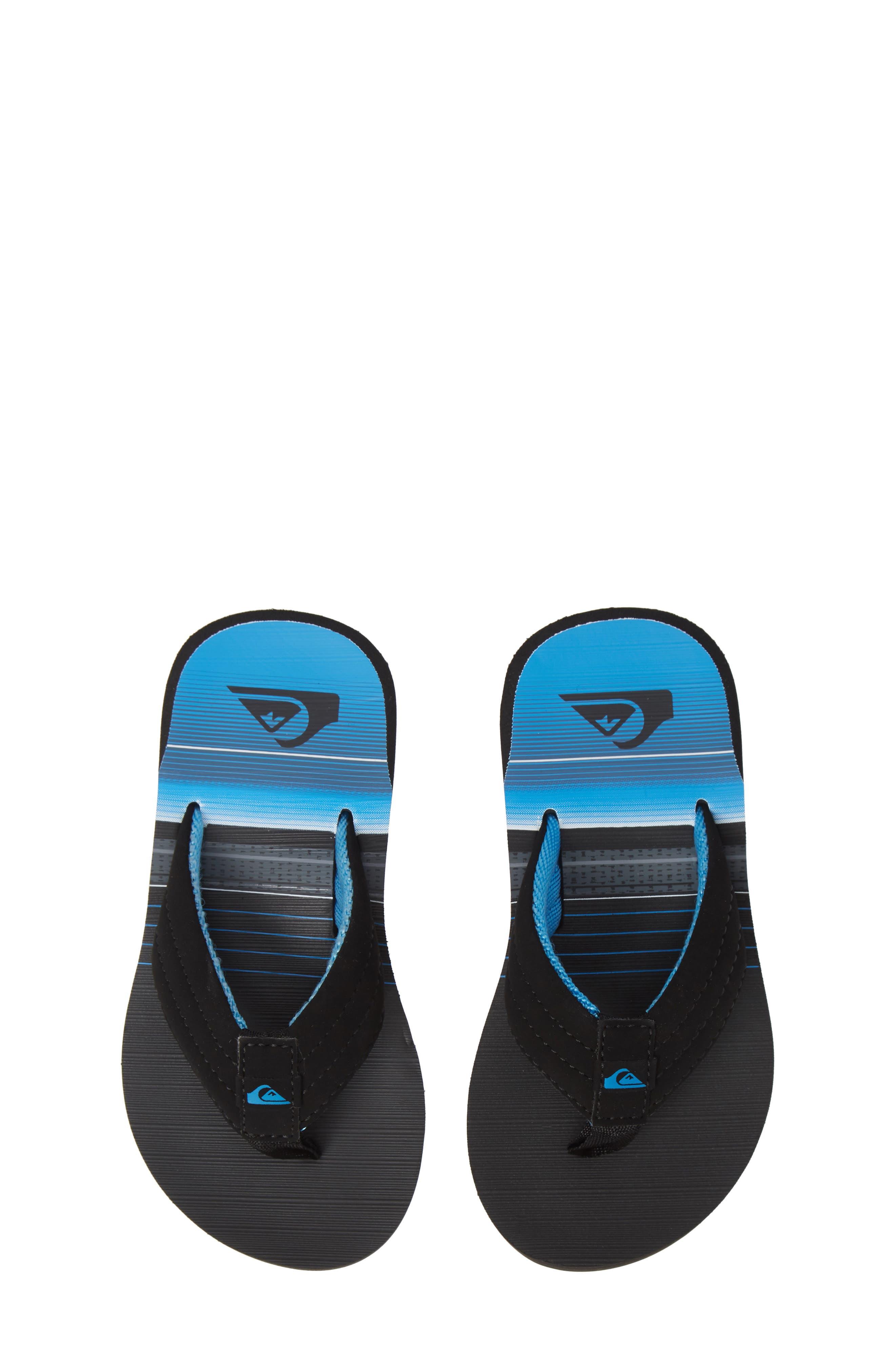 Carver Flip Flop,                         Main,                         color, BLACK/ GREY/ GREY