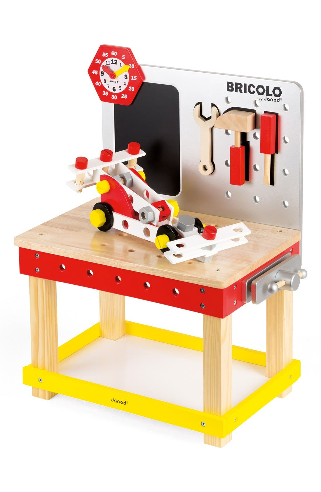 JANOD,                             'Bricolo Redmaster Magnetic Workbench' Play Set,                             Alternate thumbnail 2, color,                             960