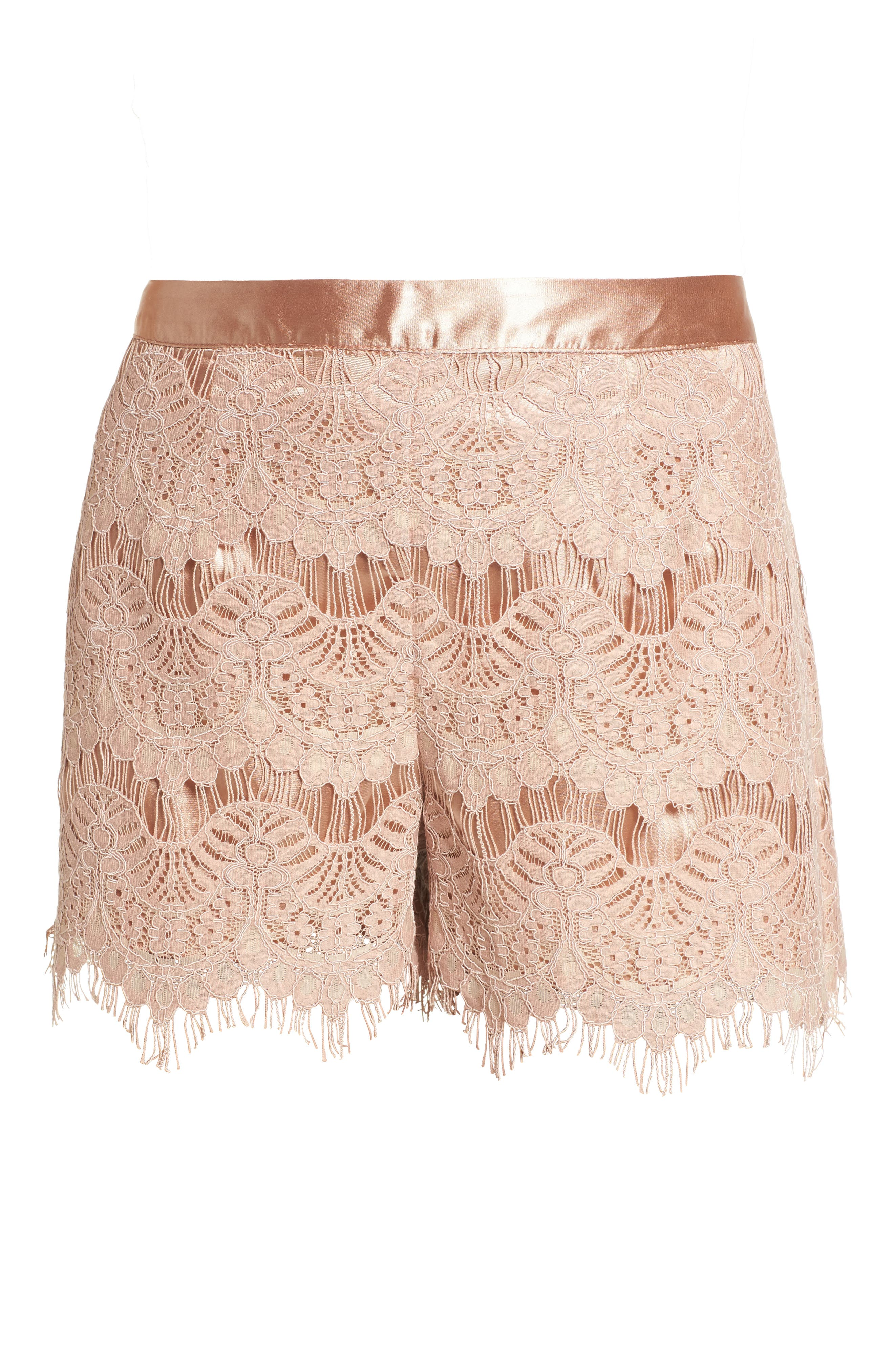 Lace Shorts,                             Alternate thumbnail 6, color,                             680