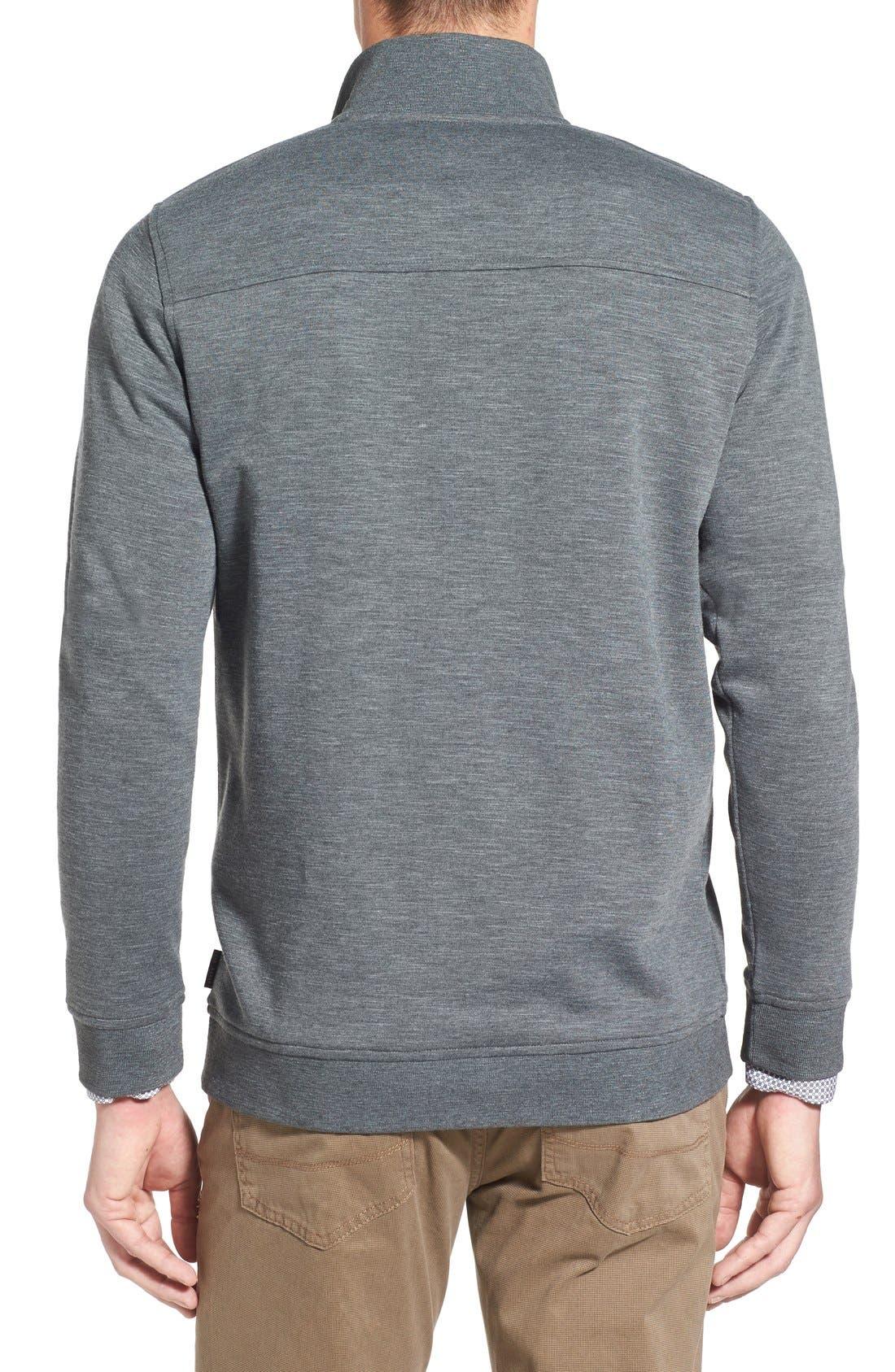 'Mandra' Quarter Zip Pullover,                             Alternate thumbnail 3, color,                             020
