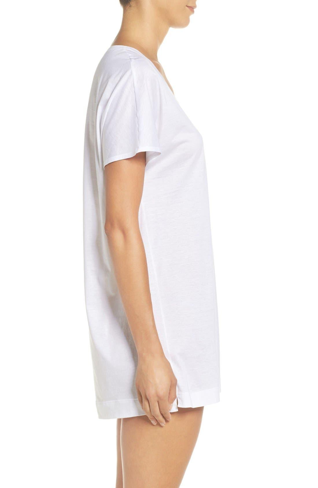 Laura Jersey Sleep Shirt,                             Alternate thumbnail 11, color,