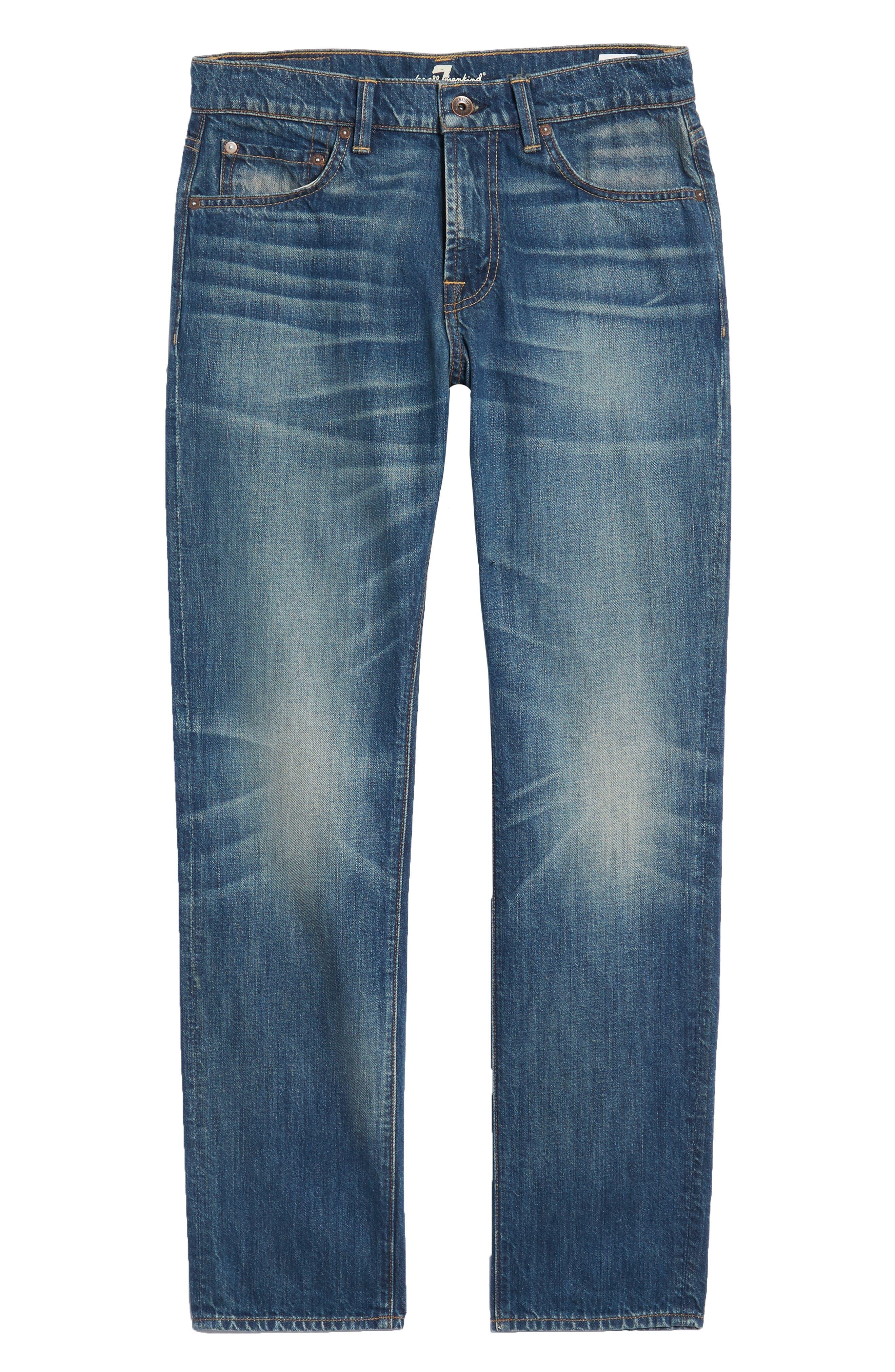 Adrien Slim Fit Jeans,                             Alternate thumbnail 6, color,                             LEGEND