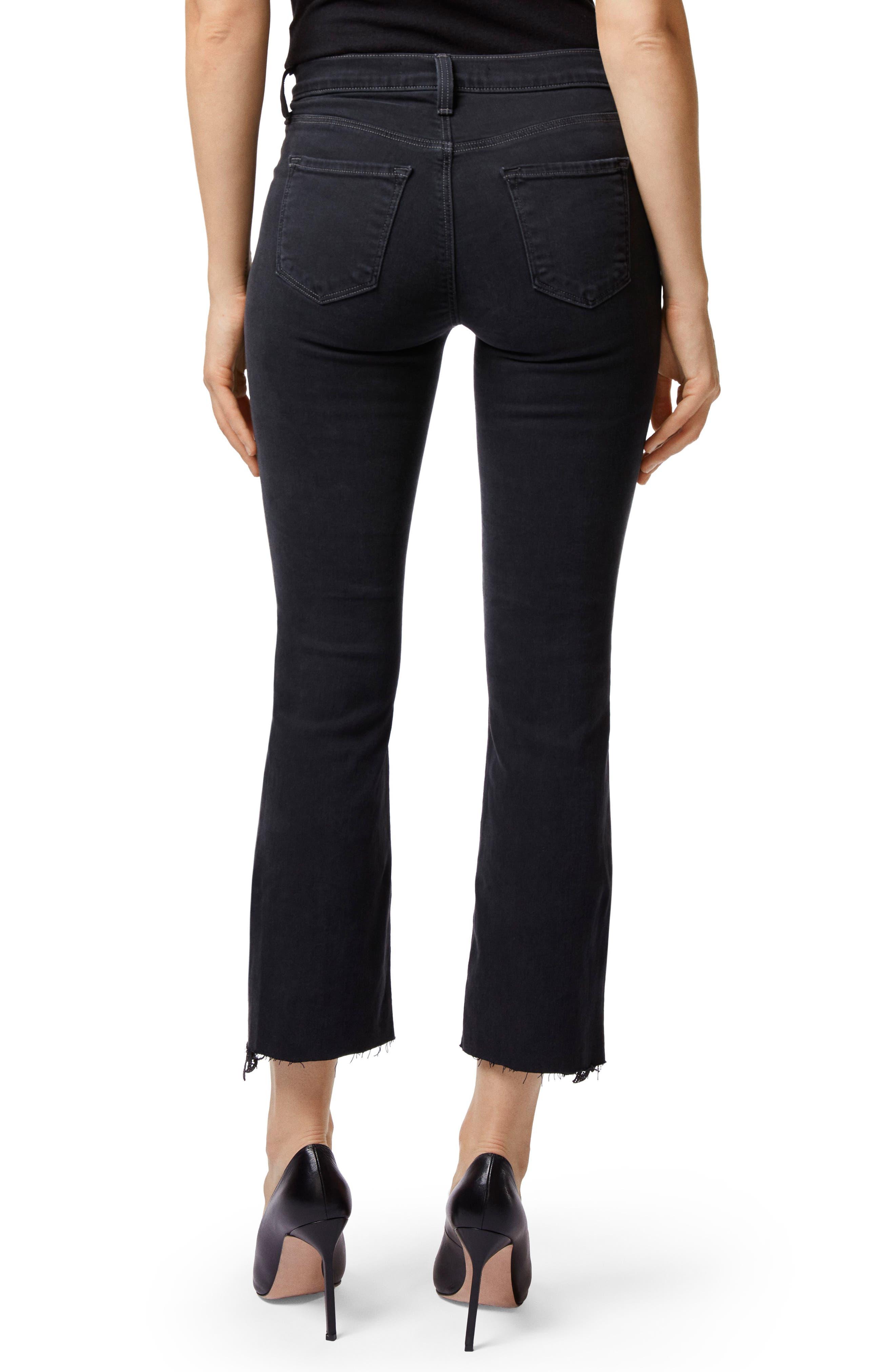 J BRAND,                             Selena Crop Bootcut Jeans,                             Alternate thumbnail 2, color,                             001