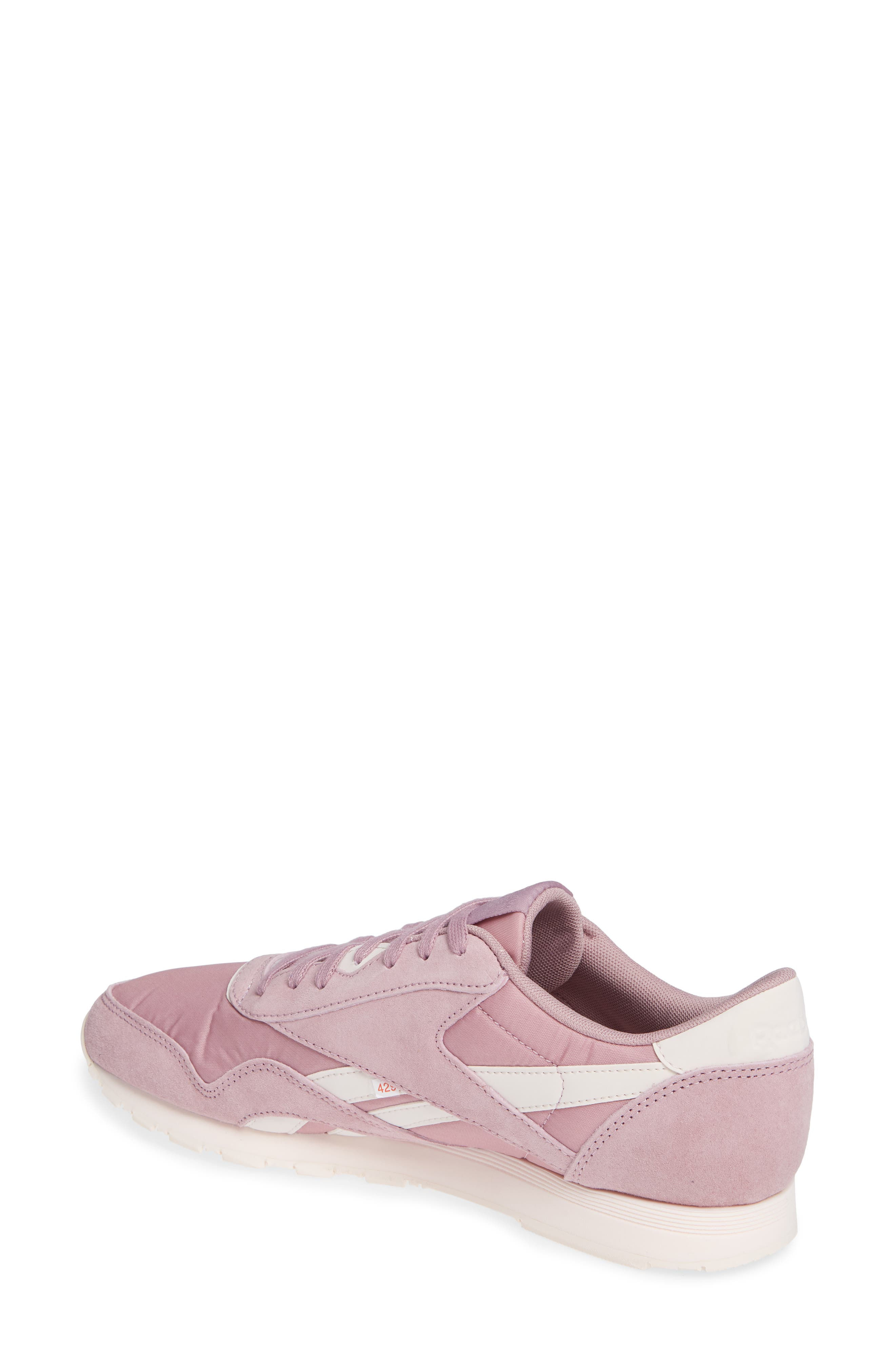 Classic Sneaker,                             Alternate thumbnail 2, color,                             INFUSED LILAC/ PALE PINK