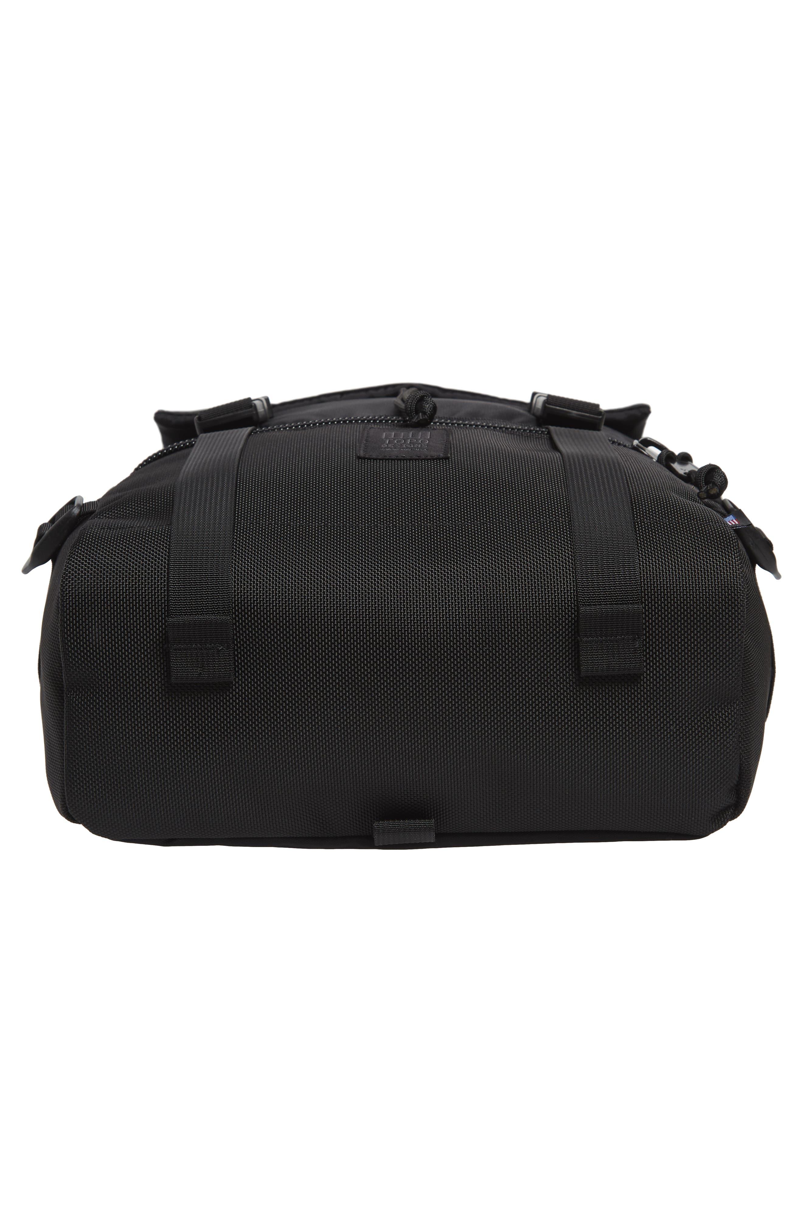 'Rover' Backpack,                             Alternate thumbnail 4, color,                             BALLISTIC BLACK