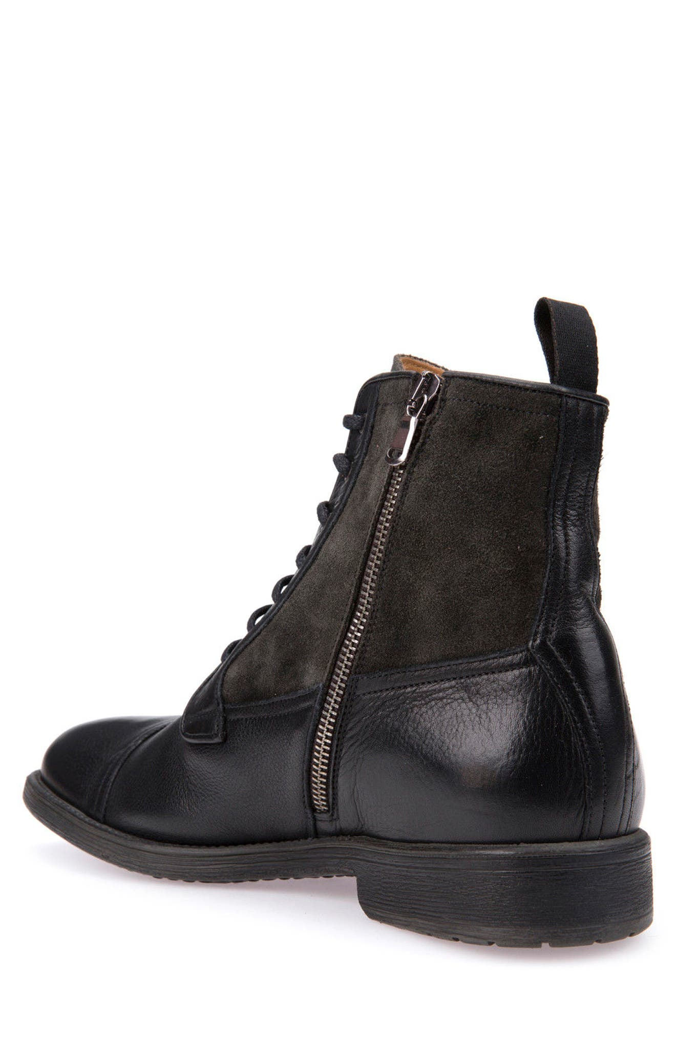 Jaylon 12 Cap-Toe Boot,                             Alternate thumbnail 2, color,                             001
