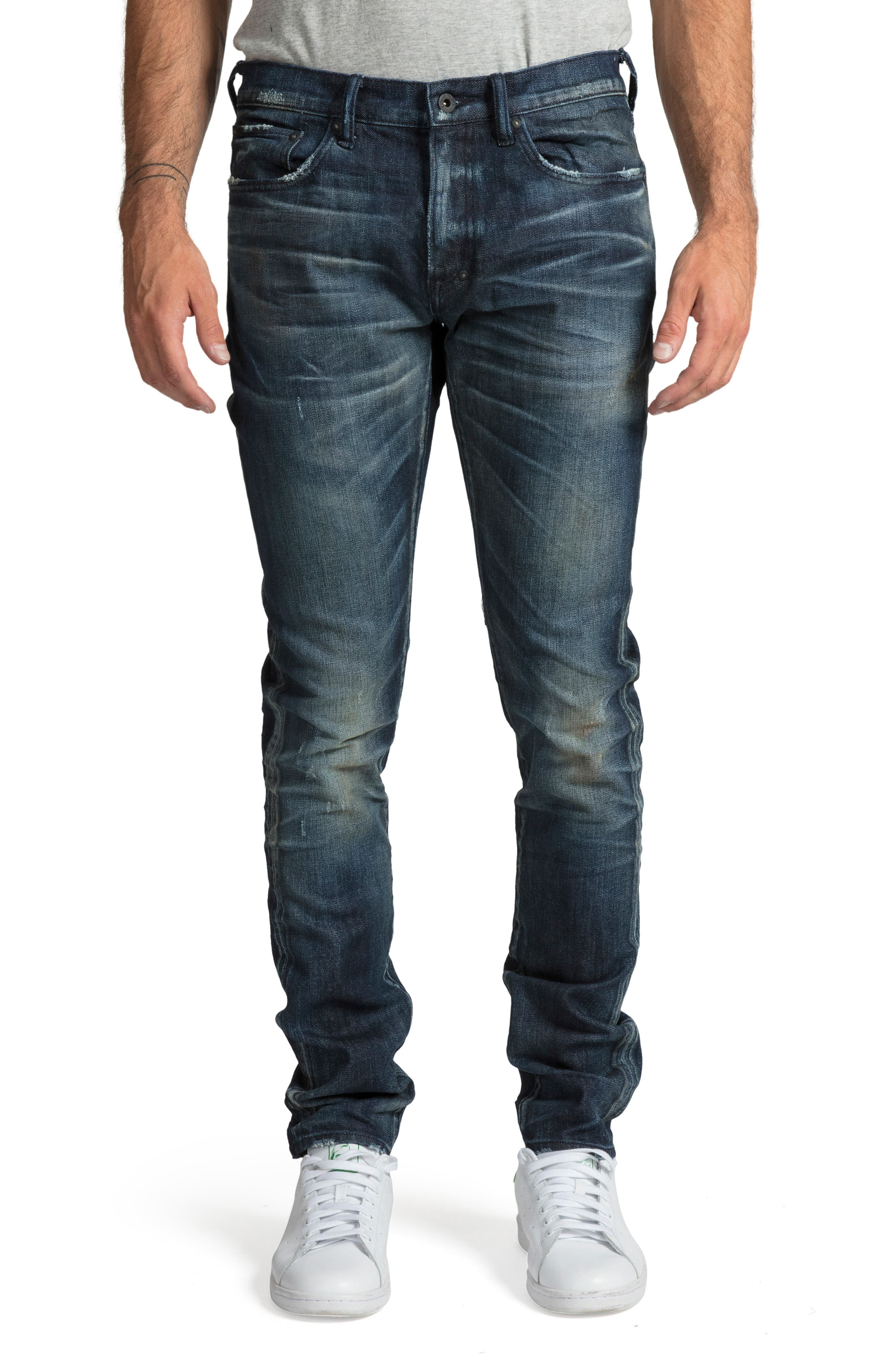 PRPS Men'S Windsor Skinny Stretch Denim Jeans in Blue
