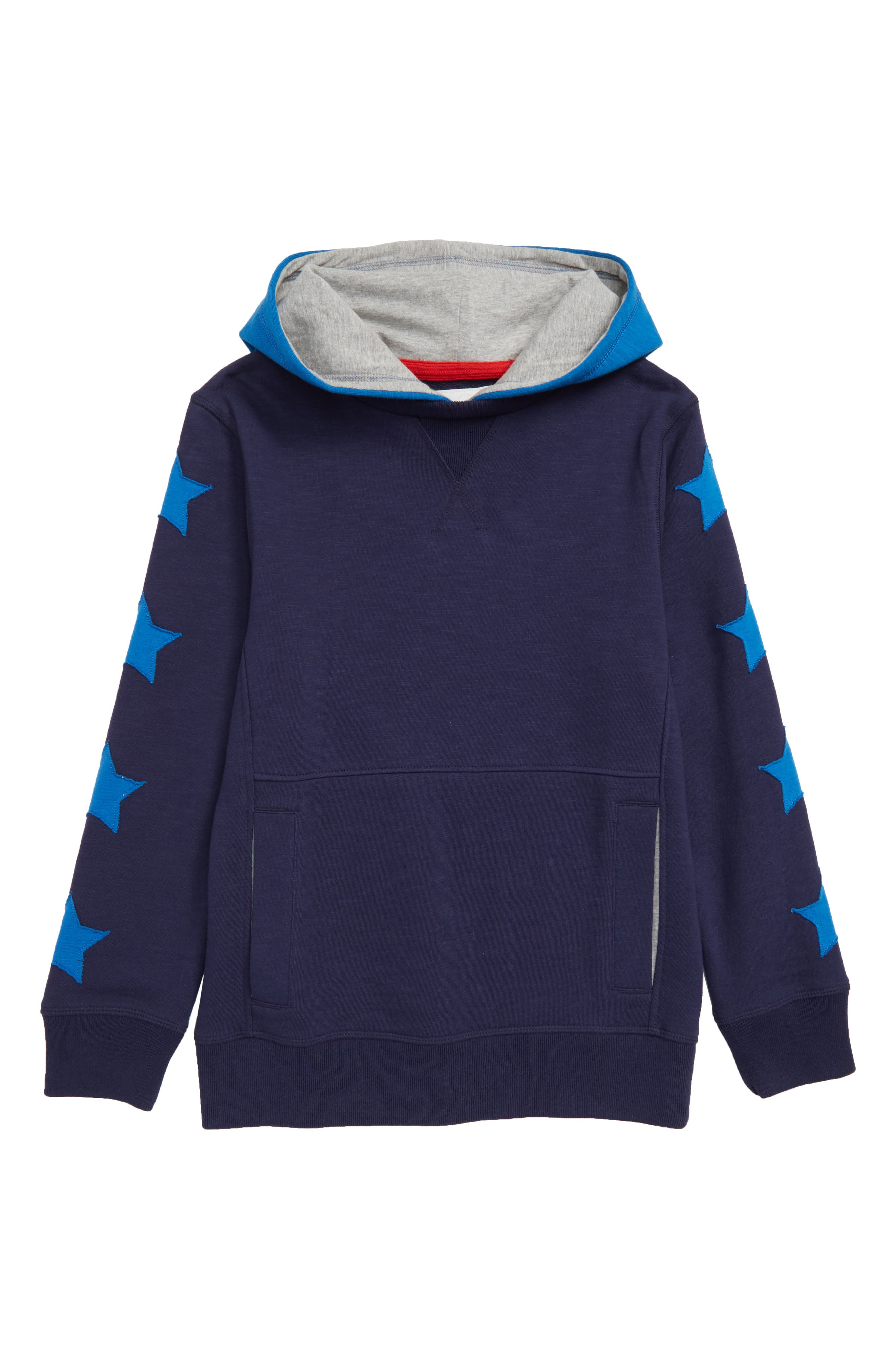 Sporty Hoodie,                             Main thumbnail 1, color,                             SCHOOL NAVY