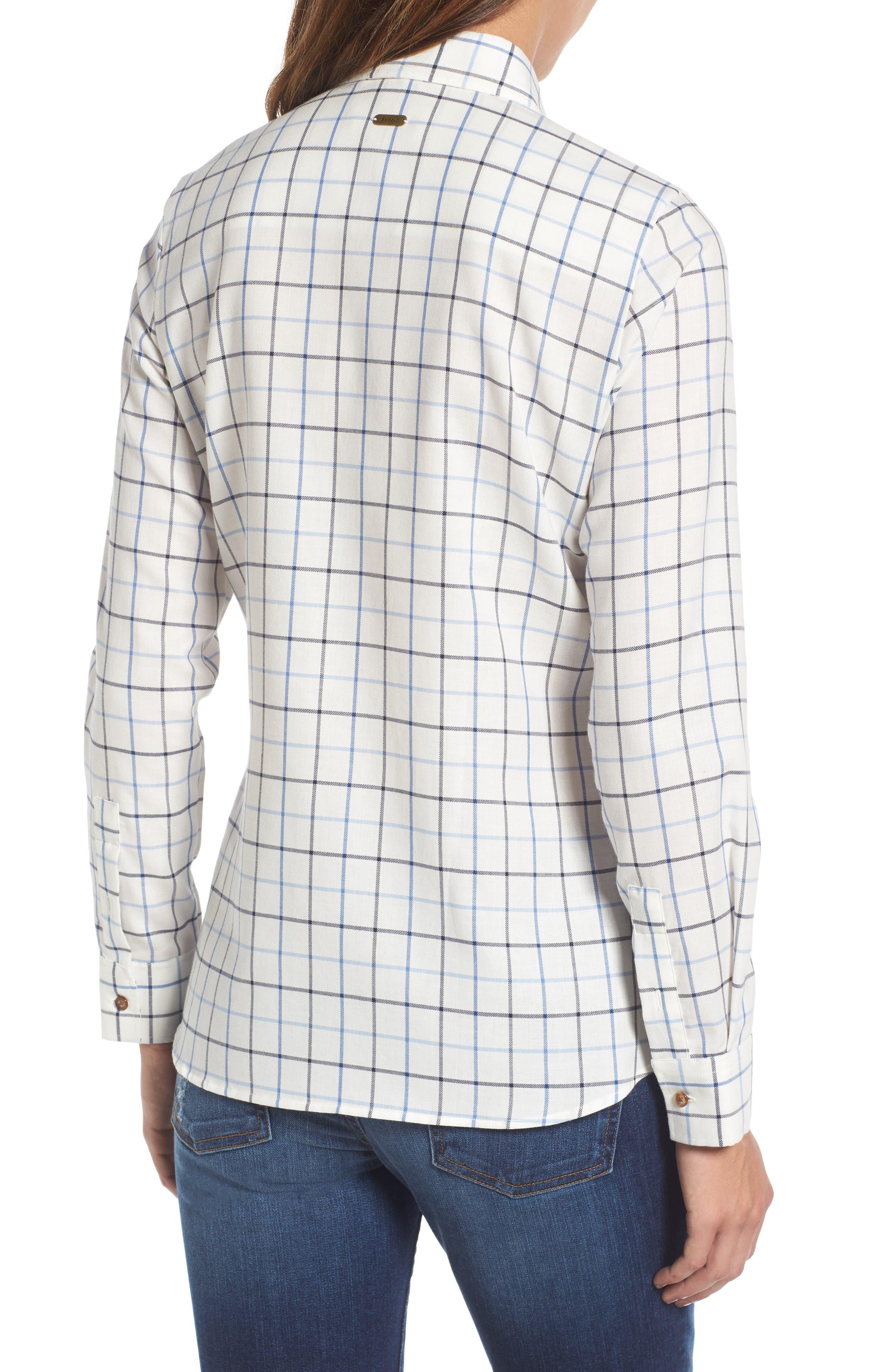 Triplebar Check Shirt,                             Alternate thumbnail 2, color,                             450