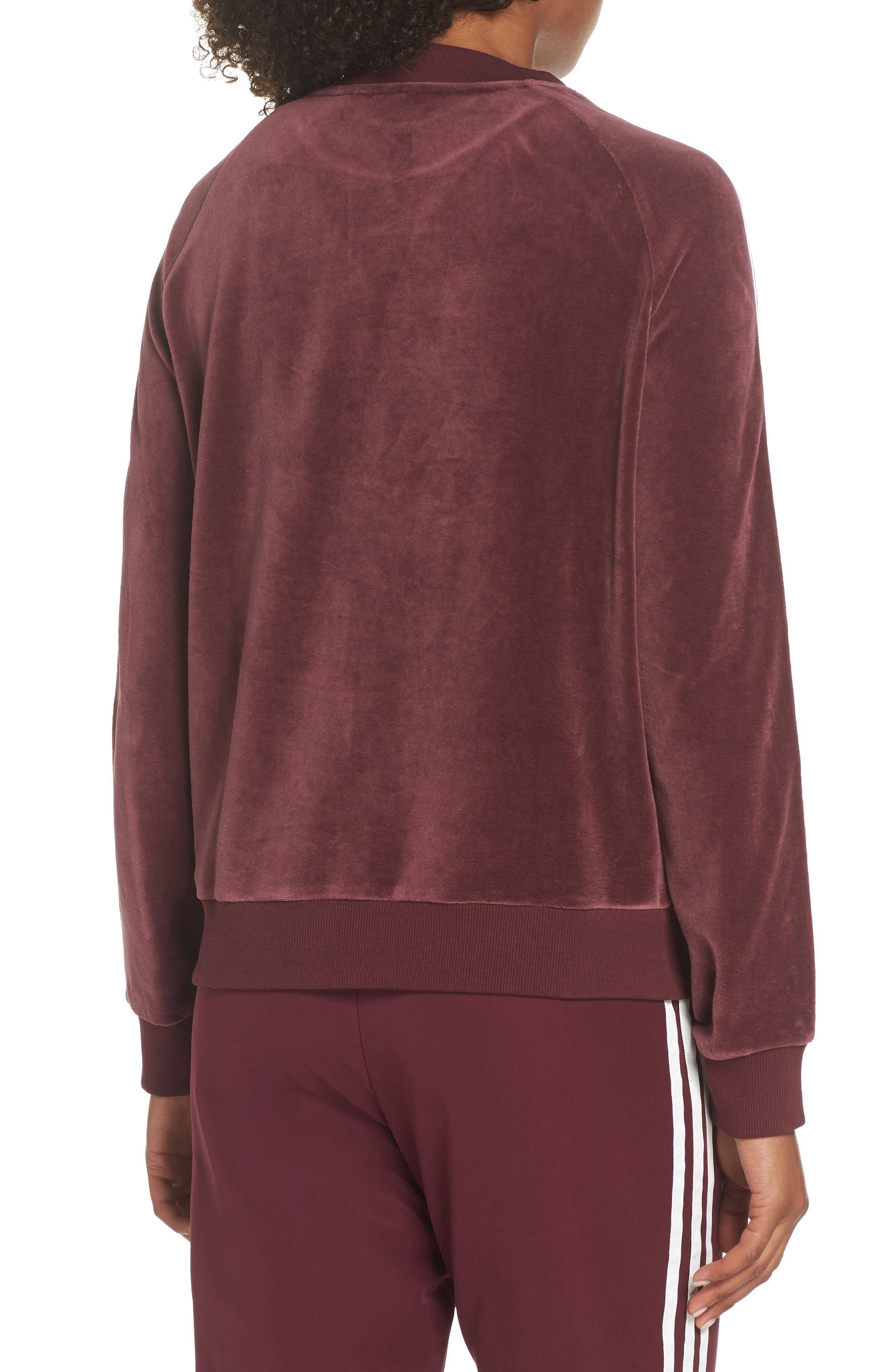 TRF Sweatshirt,                             Alternate thumbnail 2, color,                             MAROON