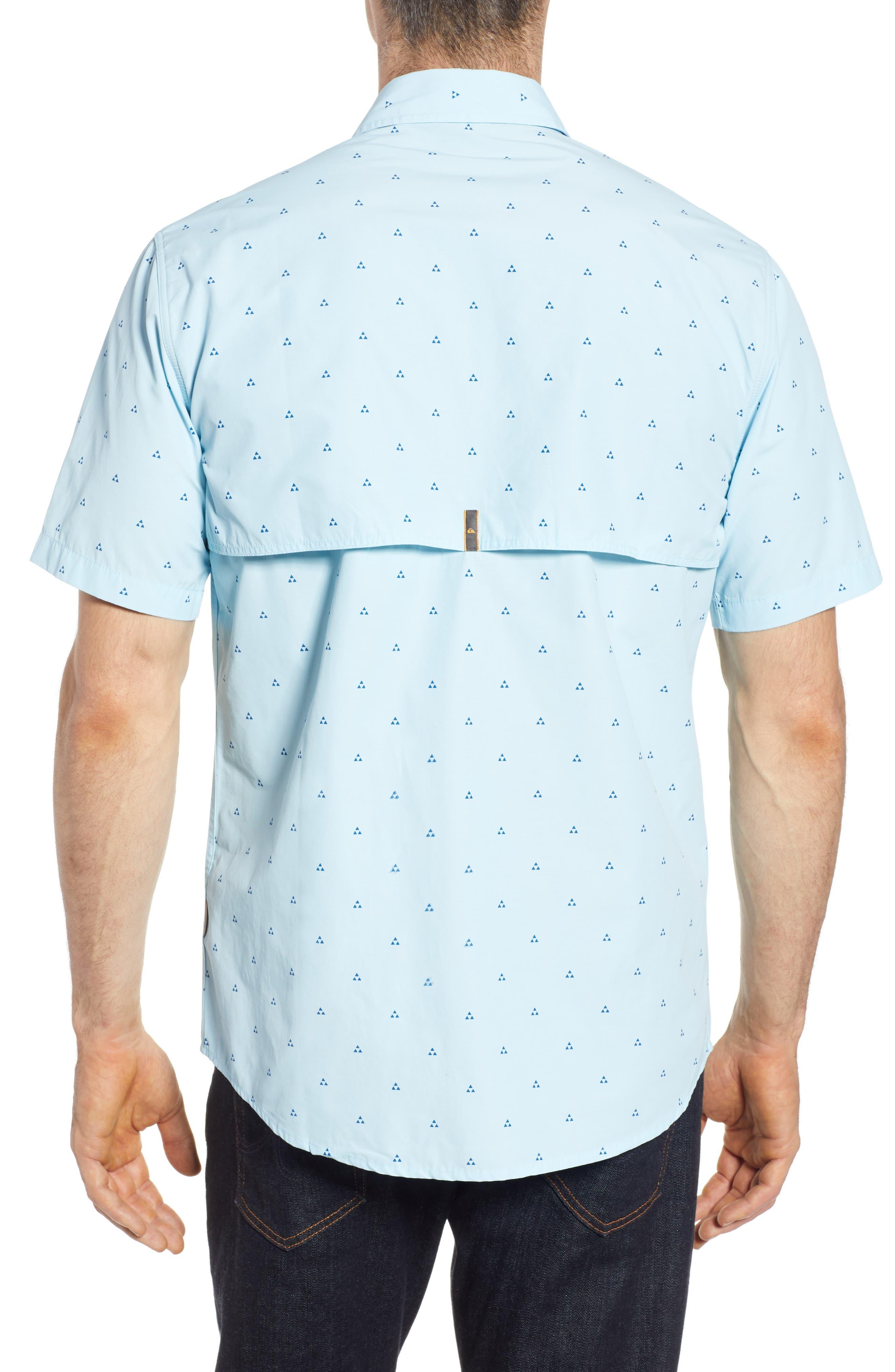 Trailblazed Regular Fit Performance Sport Shirt,                             Alternate thumbnail 2, color,                             CRYSTAL BLUE