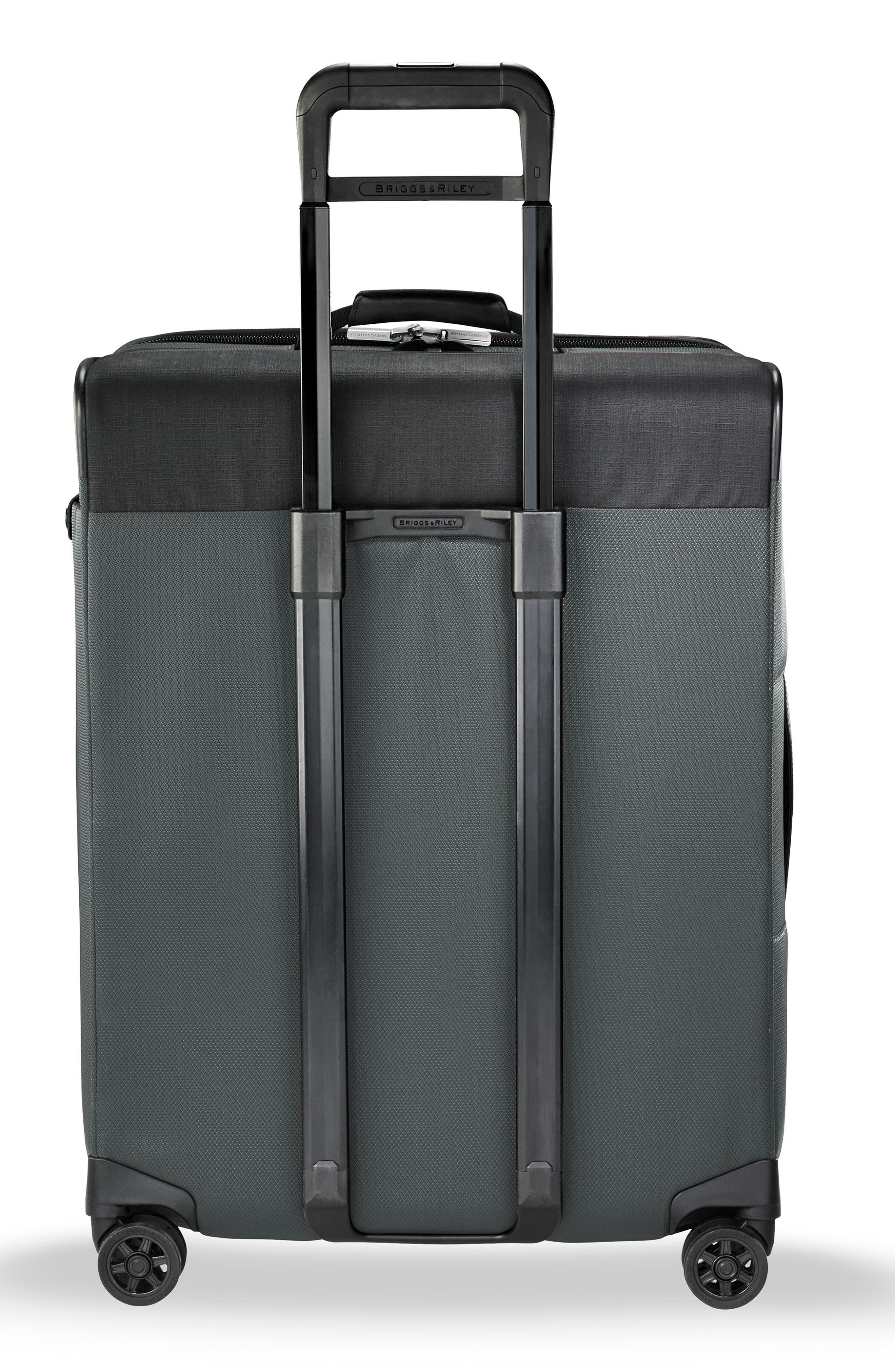 Transcend VX Medium Expandable 26-Inch Spinner Suitcase,                             Alternate thumbnail 4, color,                             SLATE GREY