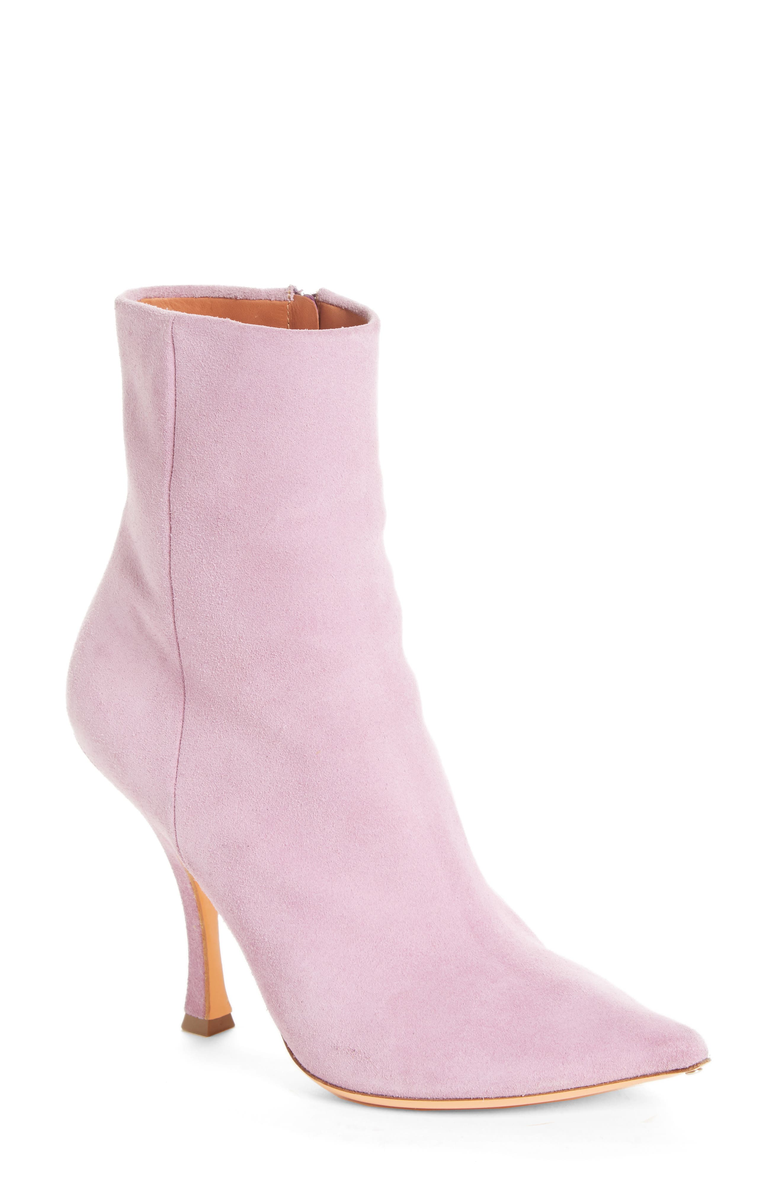 Suede Ankle Boot,                             Main thumbnail 1, color,                             500