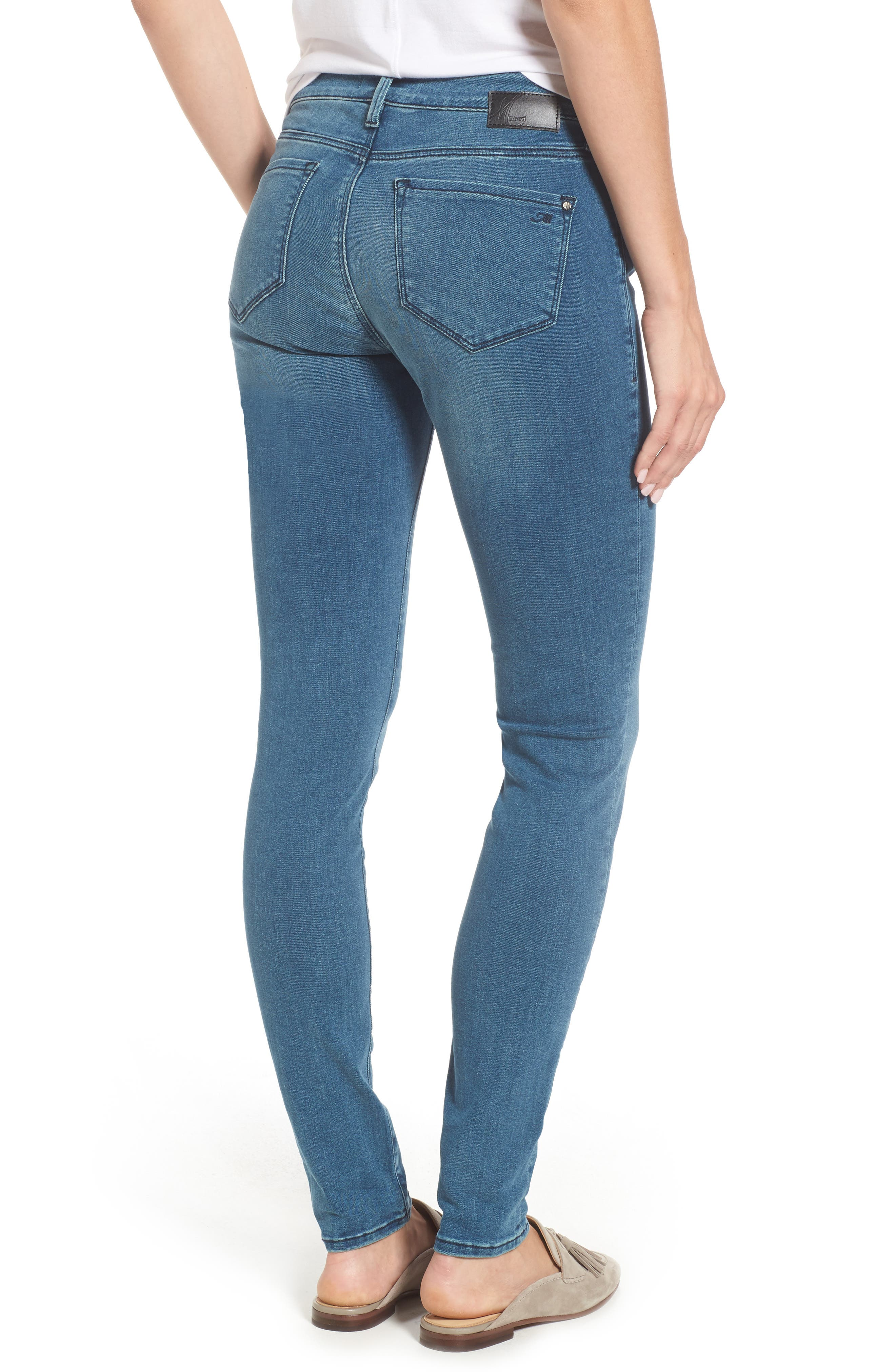 Adriana Ankle Skinny Jeans,                             Alternate thumbnail 2, color,                             420