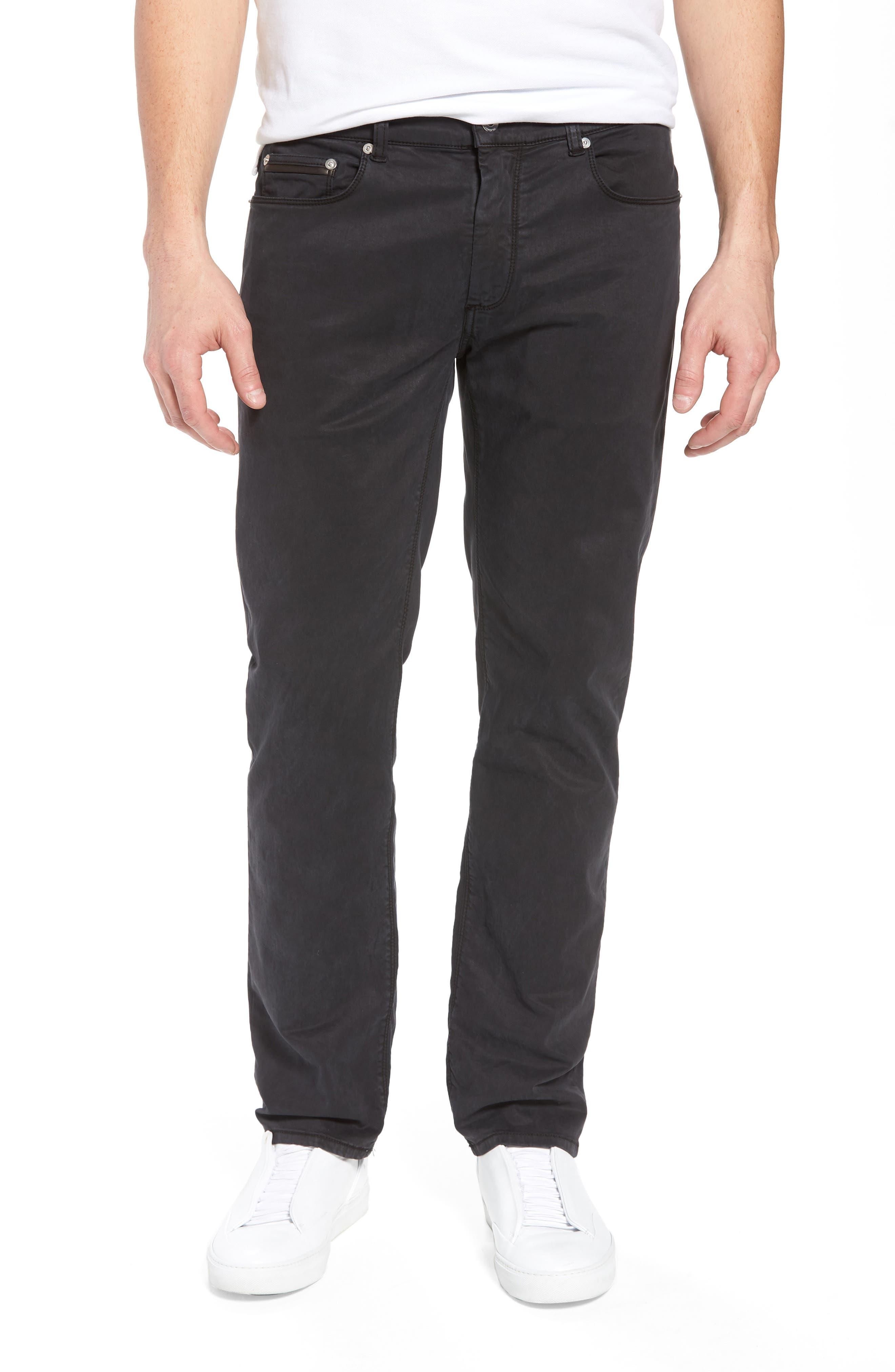 Trim Fit Pants,                         Main,                         color, 001