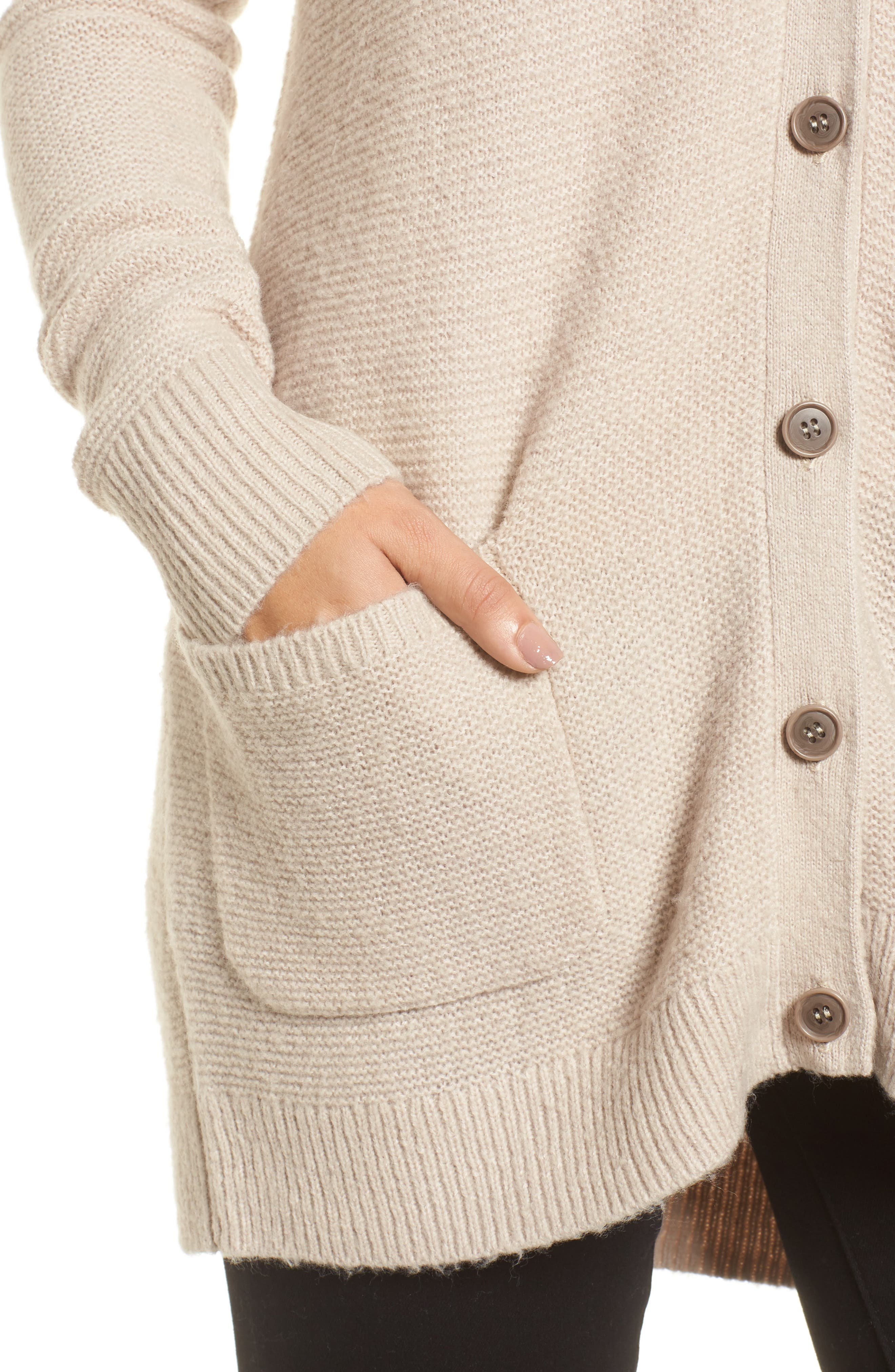 Relaxed Boyfriend Cardigan,                             Alternate thumbnail 26, color,