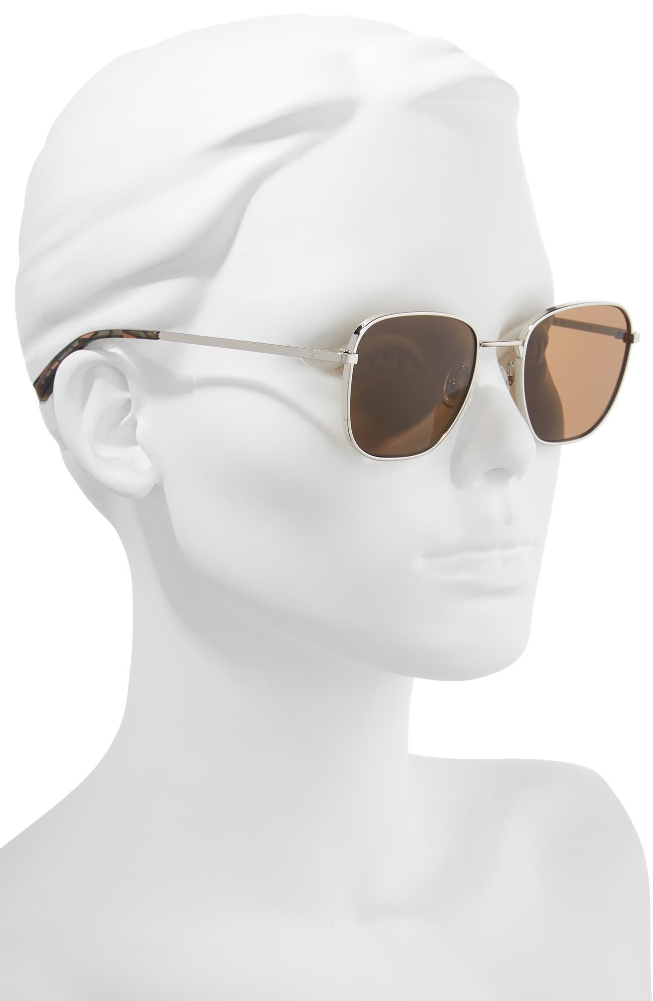 Dana 50mm Square Sunglasses,                             Alternate thumbnail 2, color,                             045