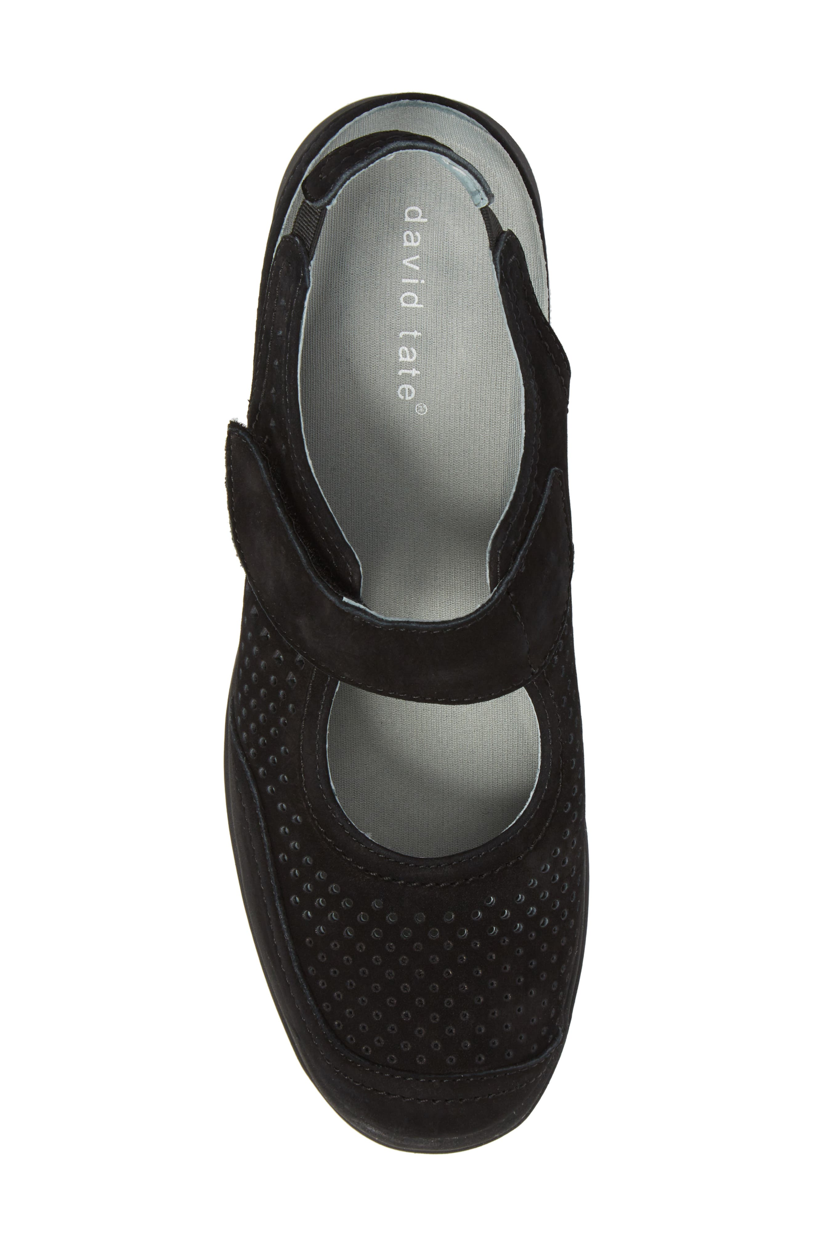Clever Slingback Sneaker,                             Alternate thumbnail 5, color,                             BLACK NUBUCK