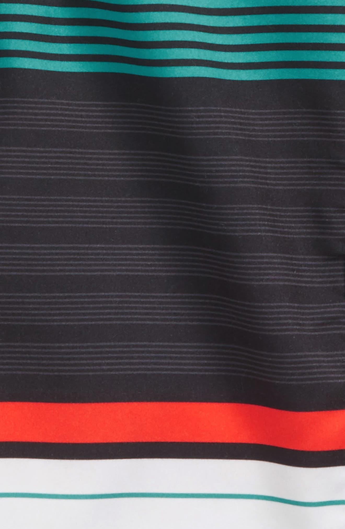 Lennox Stripe Board Shorts,                             Alternate thumbnail 10, color,