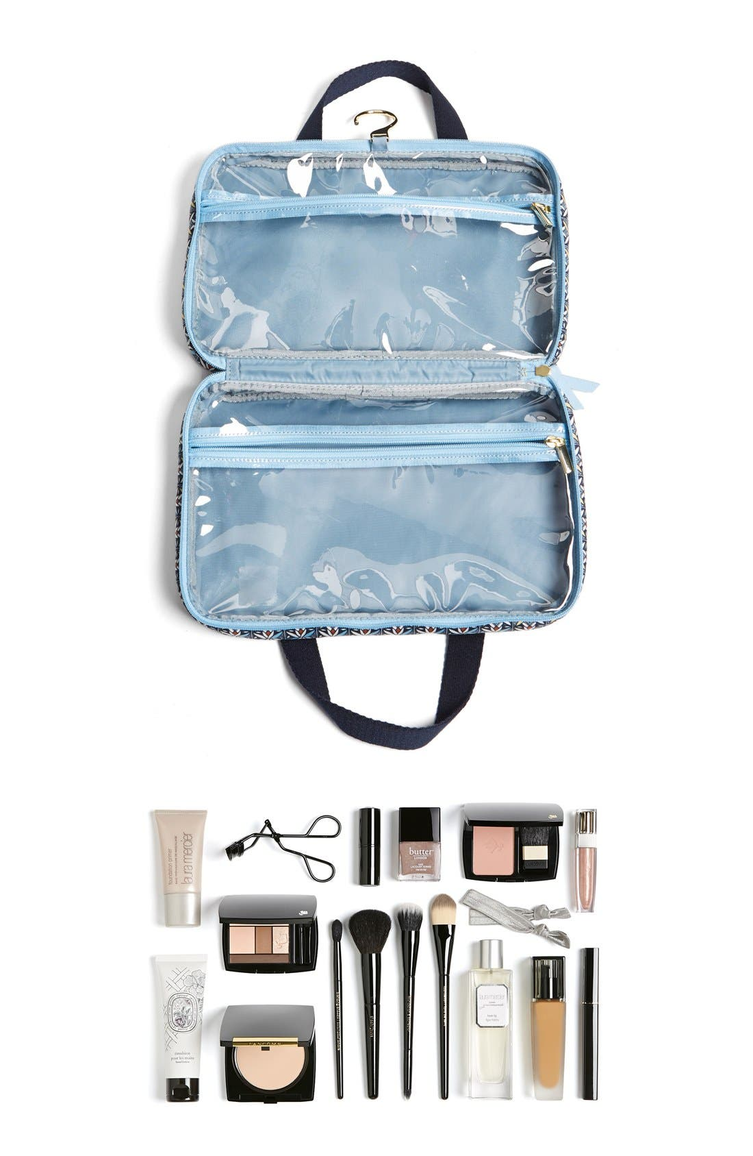 Cosmetics Bag,                             Alternate thumbnail 3, color,                             400