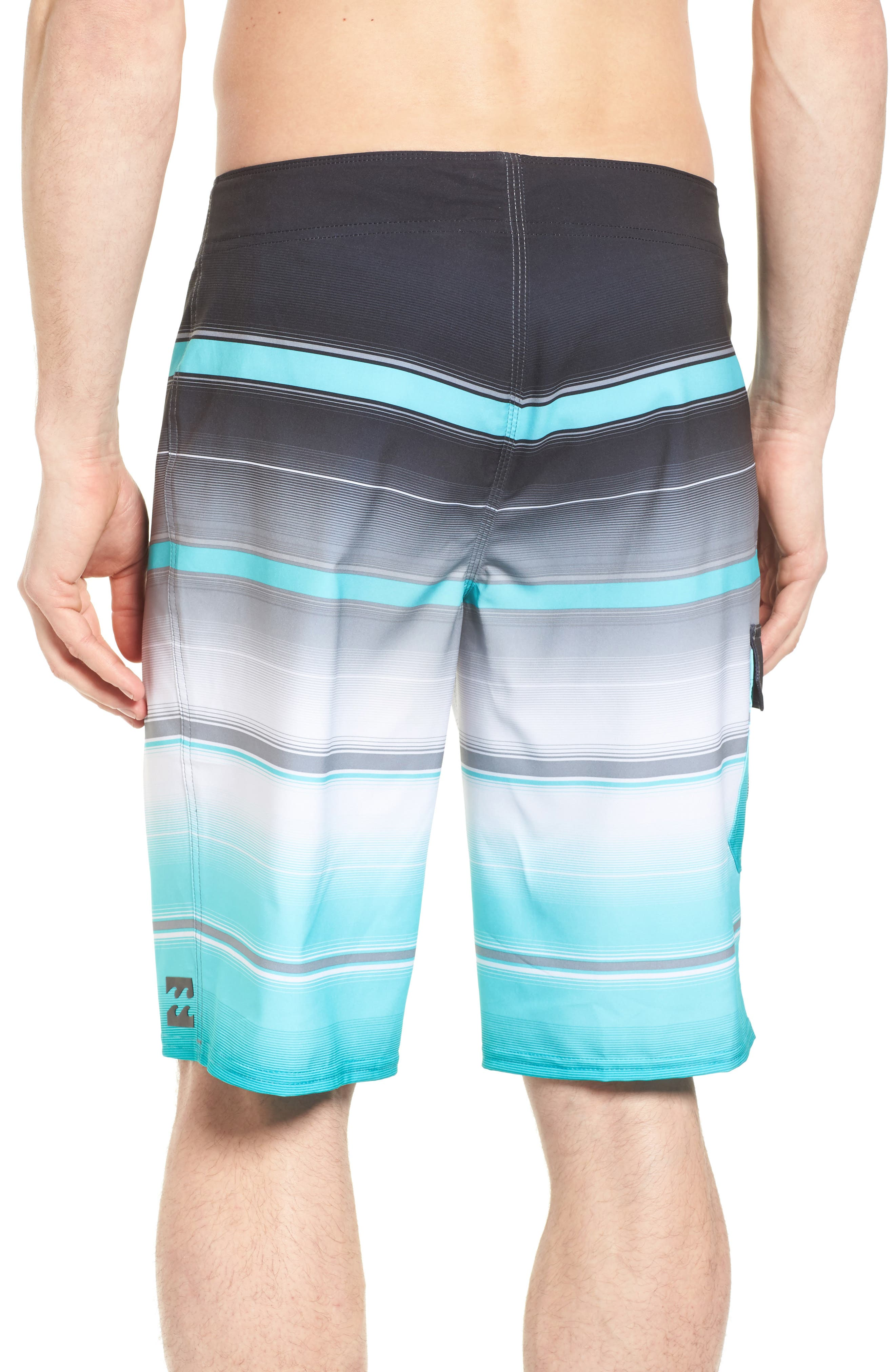 All Day X Stripe Board Shorts,                             Alternate thumbnail 6, color,