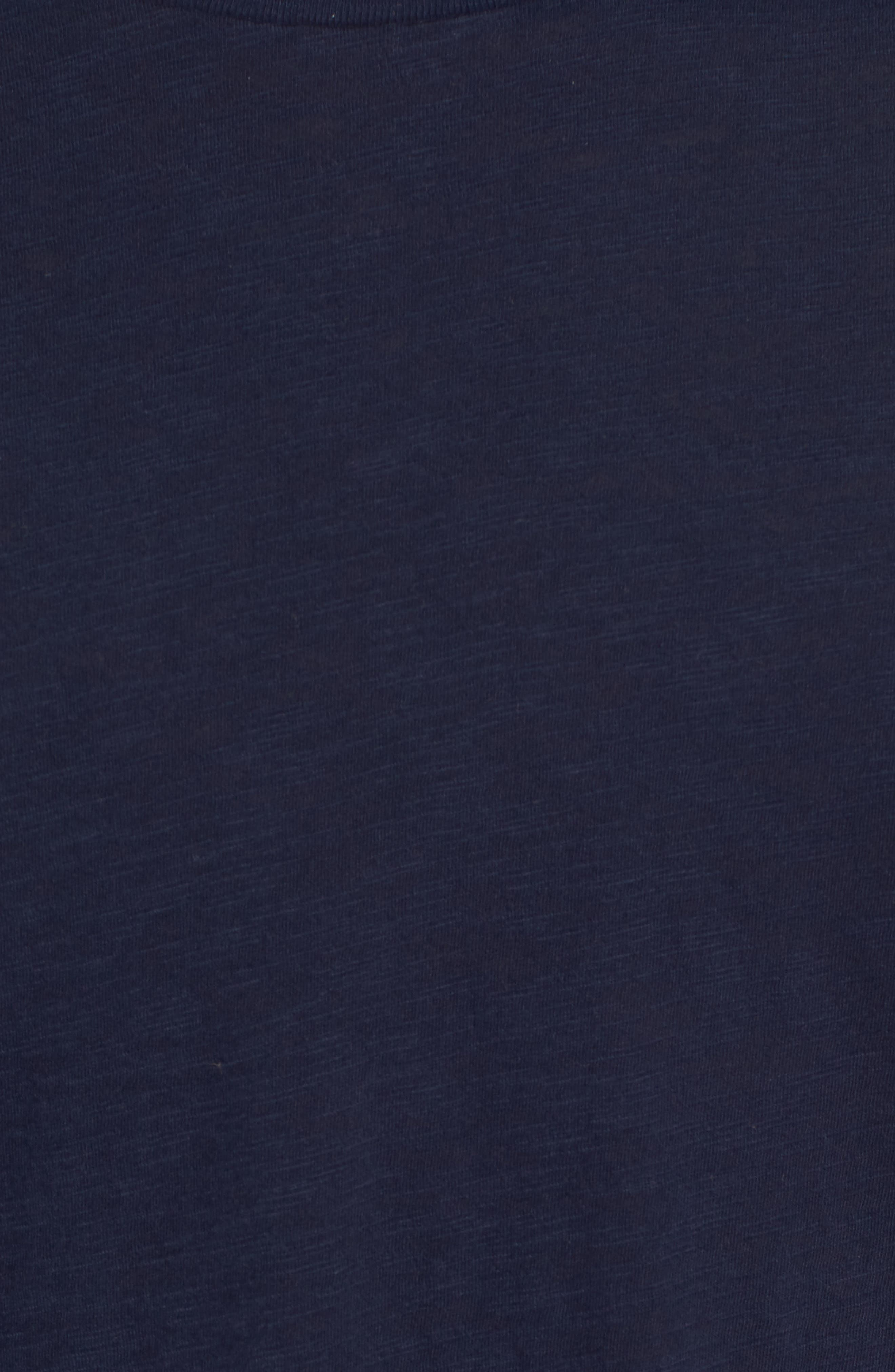 Raglan T-Shirt,                             Alternate thumbnail 5, color,                             INDIGO STRIPE SHIBORI INDIGO
