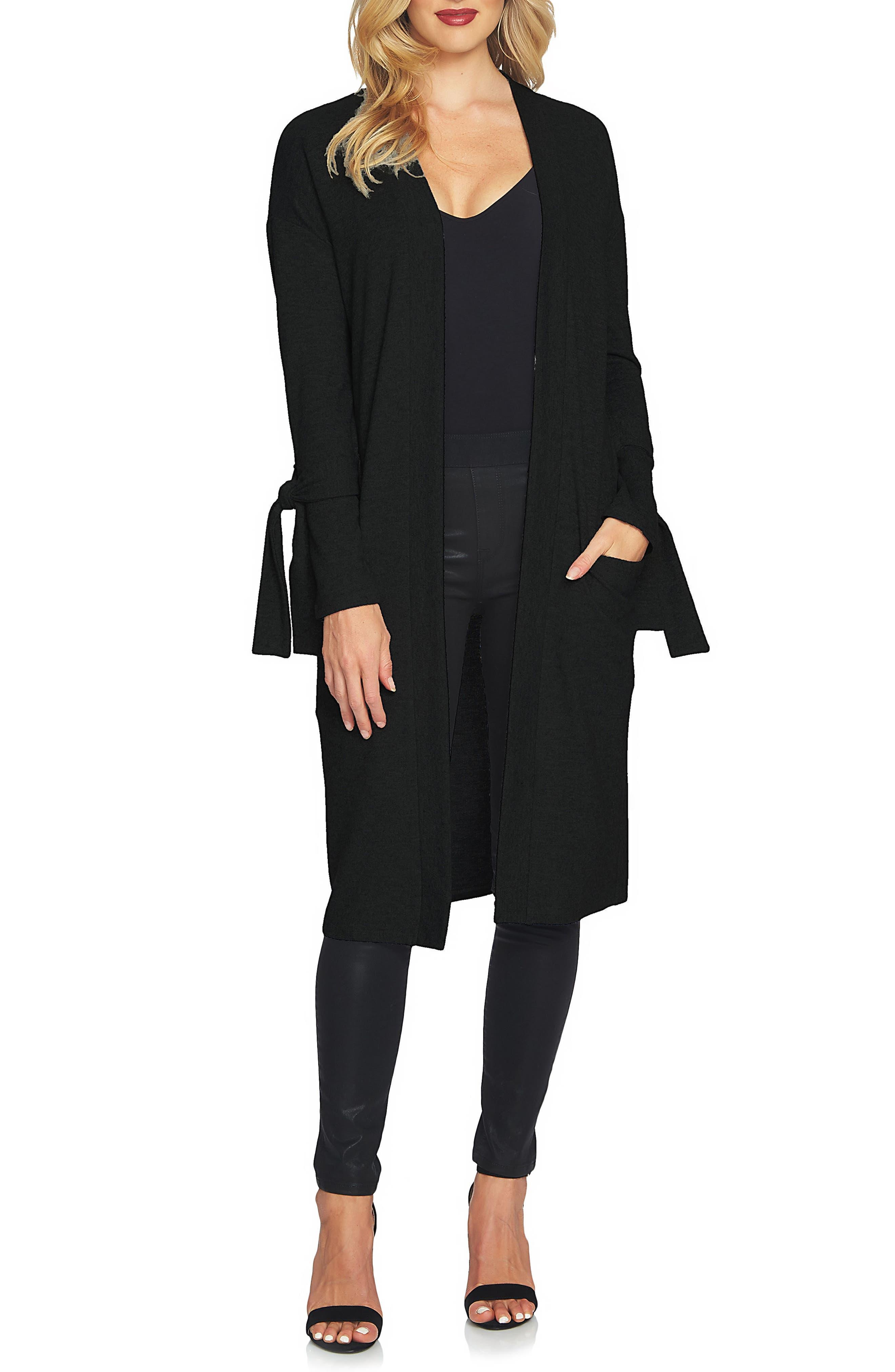 The Cozy Tie Sleeve Cardigan,                         Main,                         color, 006