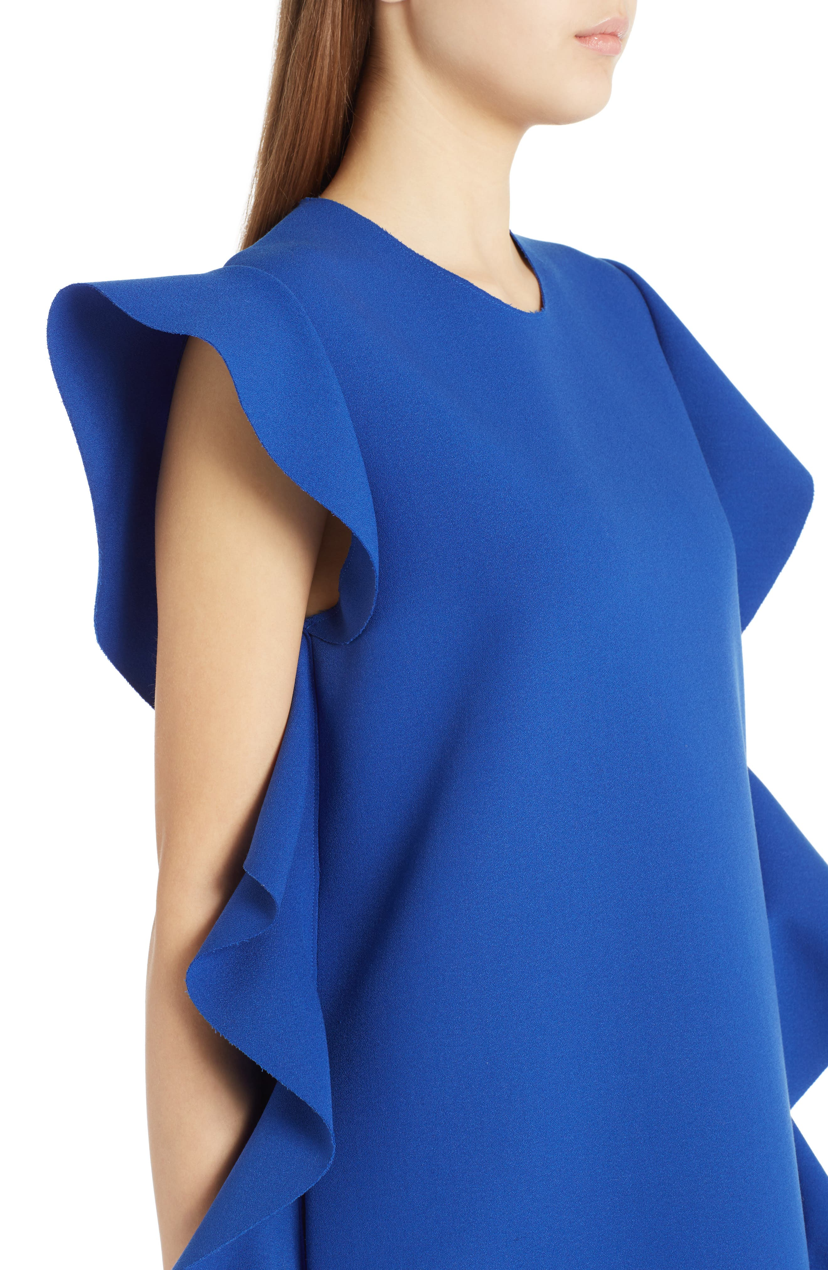 Ruffle Dress,                             Alternate thumbnail 4, color,                             400
