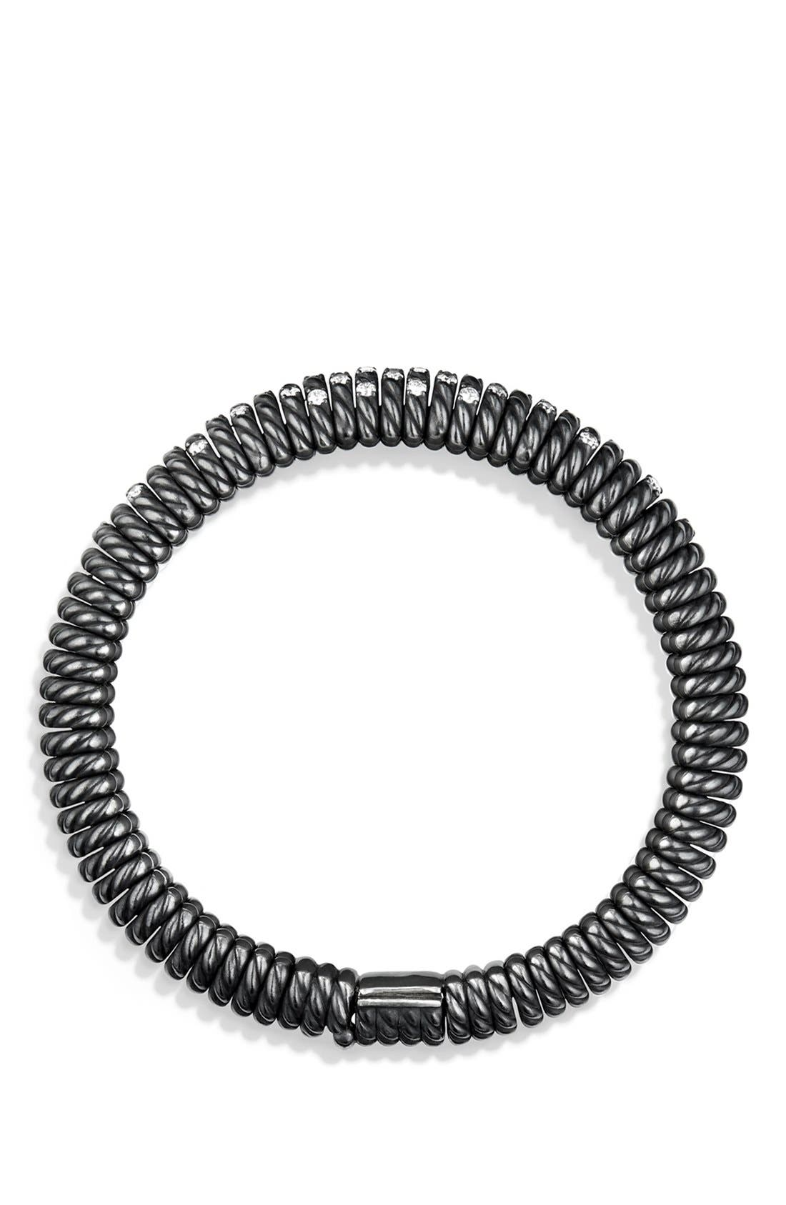 'Tempo' Bracelet with Diamonds,                             Alternate thumbnail 2, color,                             DIAMOND