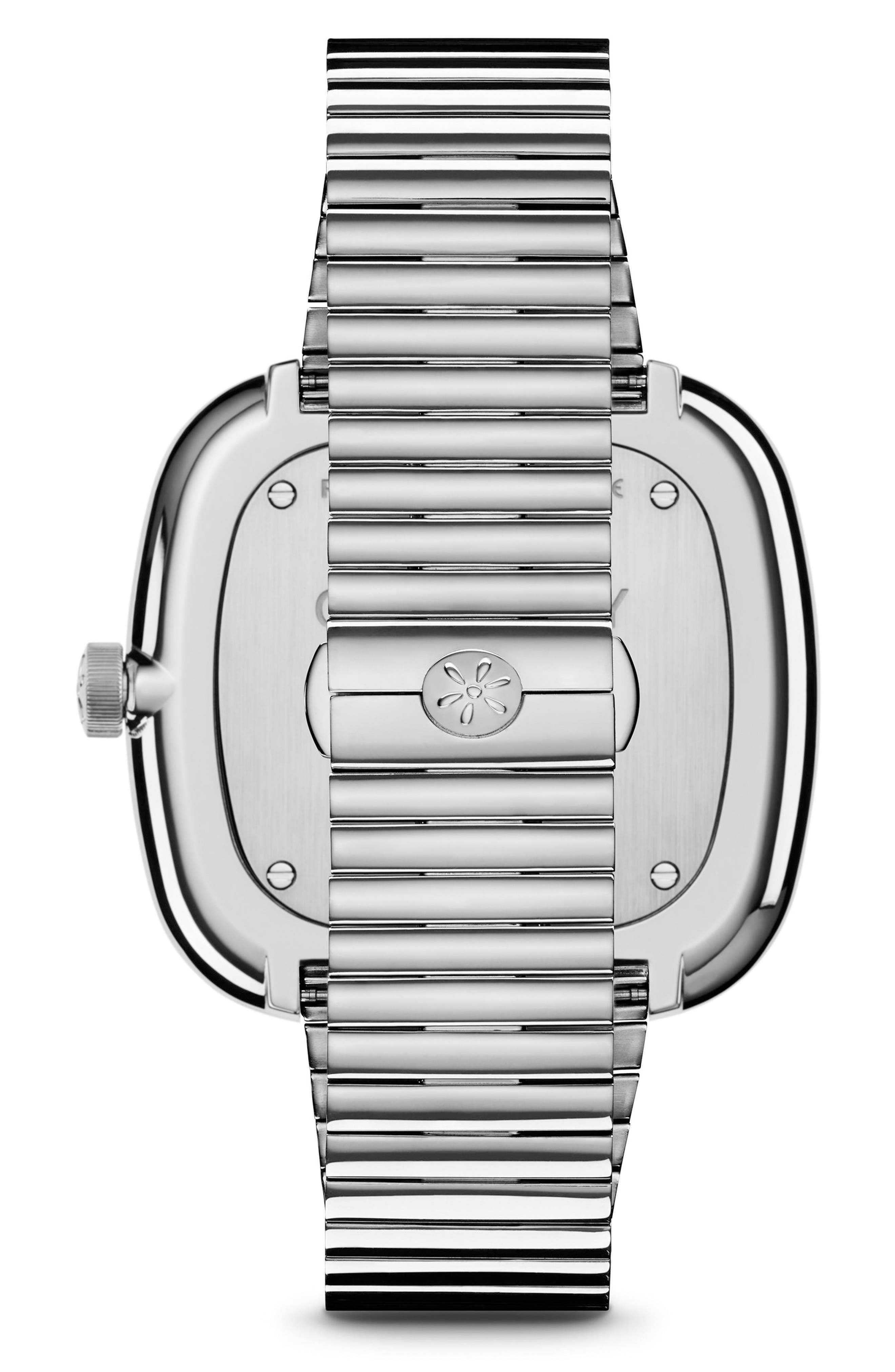 The Eppie Sneed Bracelet Watch, 40mm,                             Alternate thumbnail 2, color,                             SILVER/ SANDSTONE/ SILVER