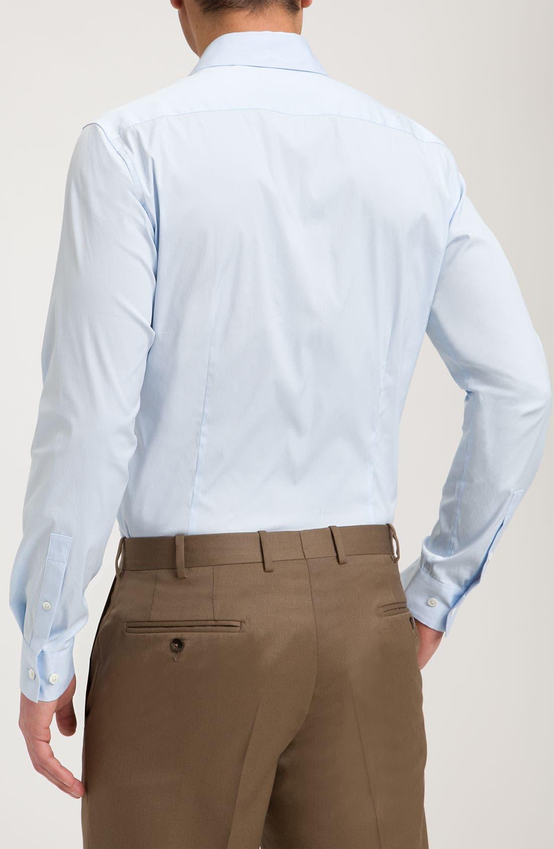 'Sylvain Wealth' Trim Fit Sport Shirt,                             Alternate thumbnail 9, color,                             426