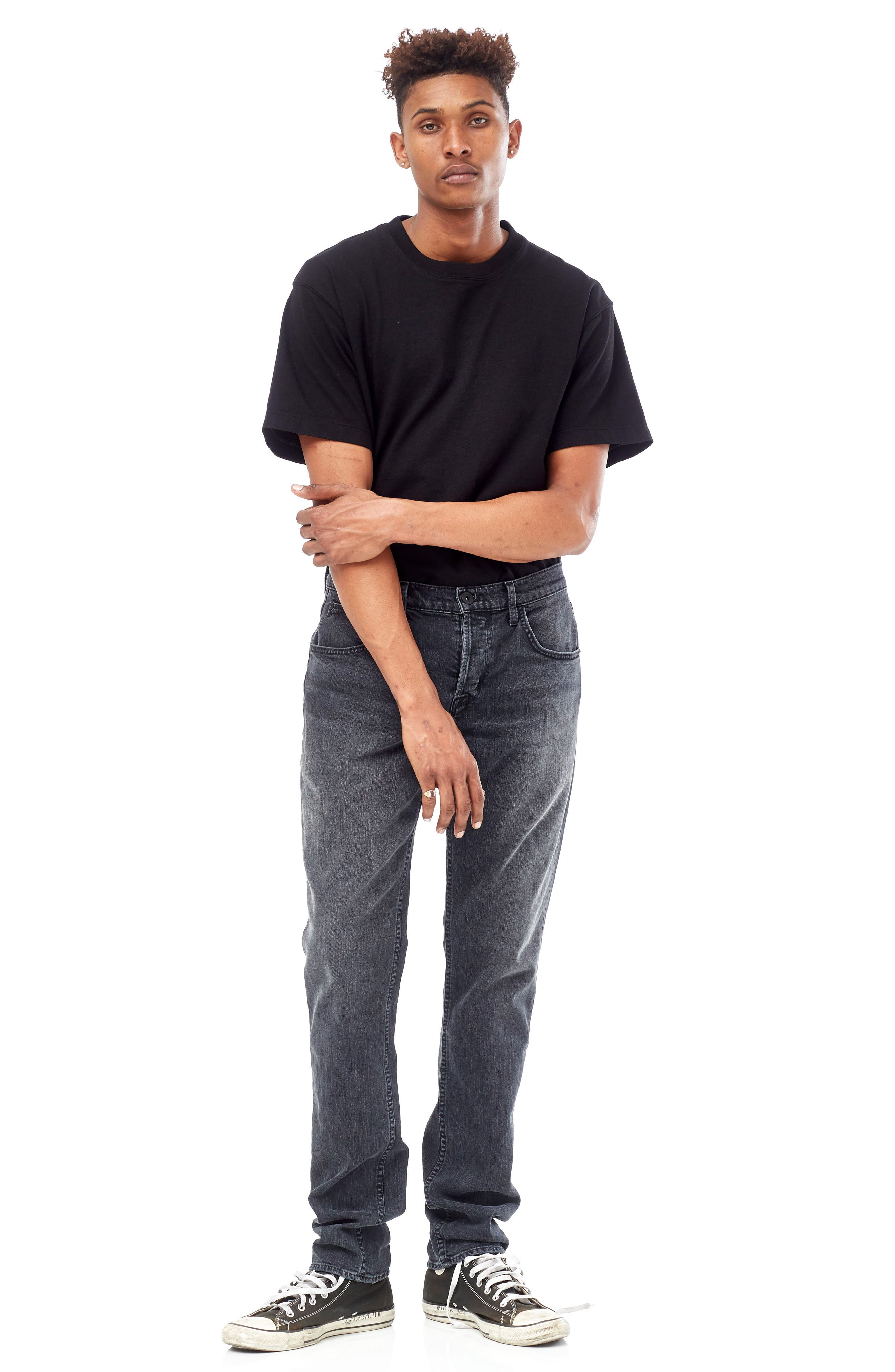Byron Slim Straight Leg Jeans,                             Alternate thumbnail 6, color,