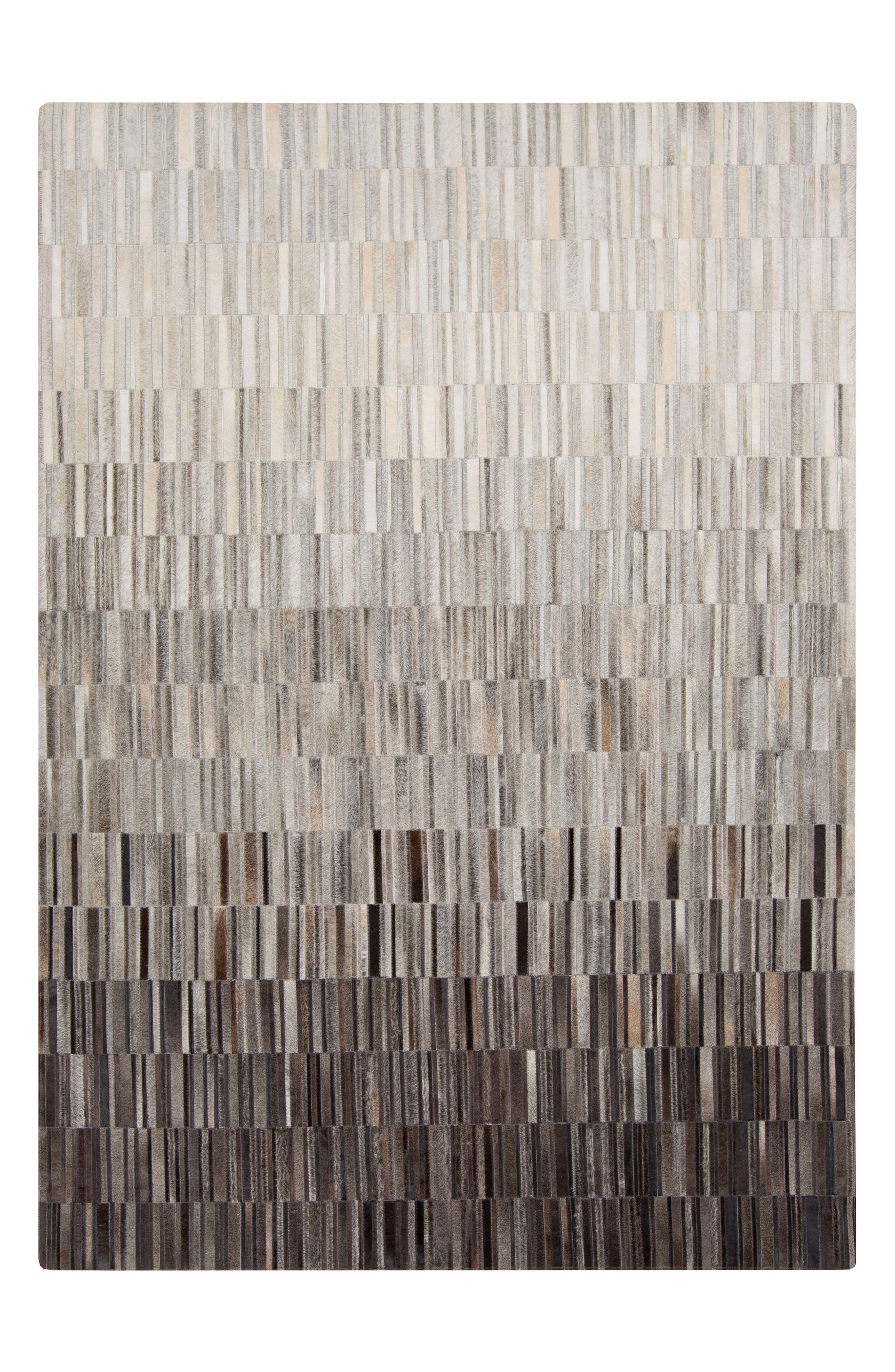 Outback Dégradé Genuine Calf Hair Rug,                         Main,                         color, 001