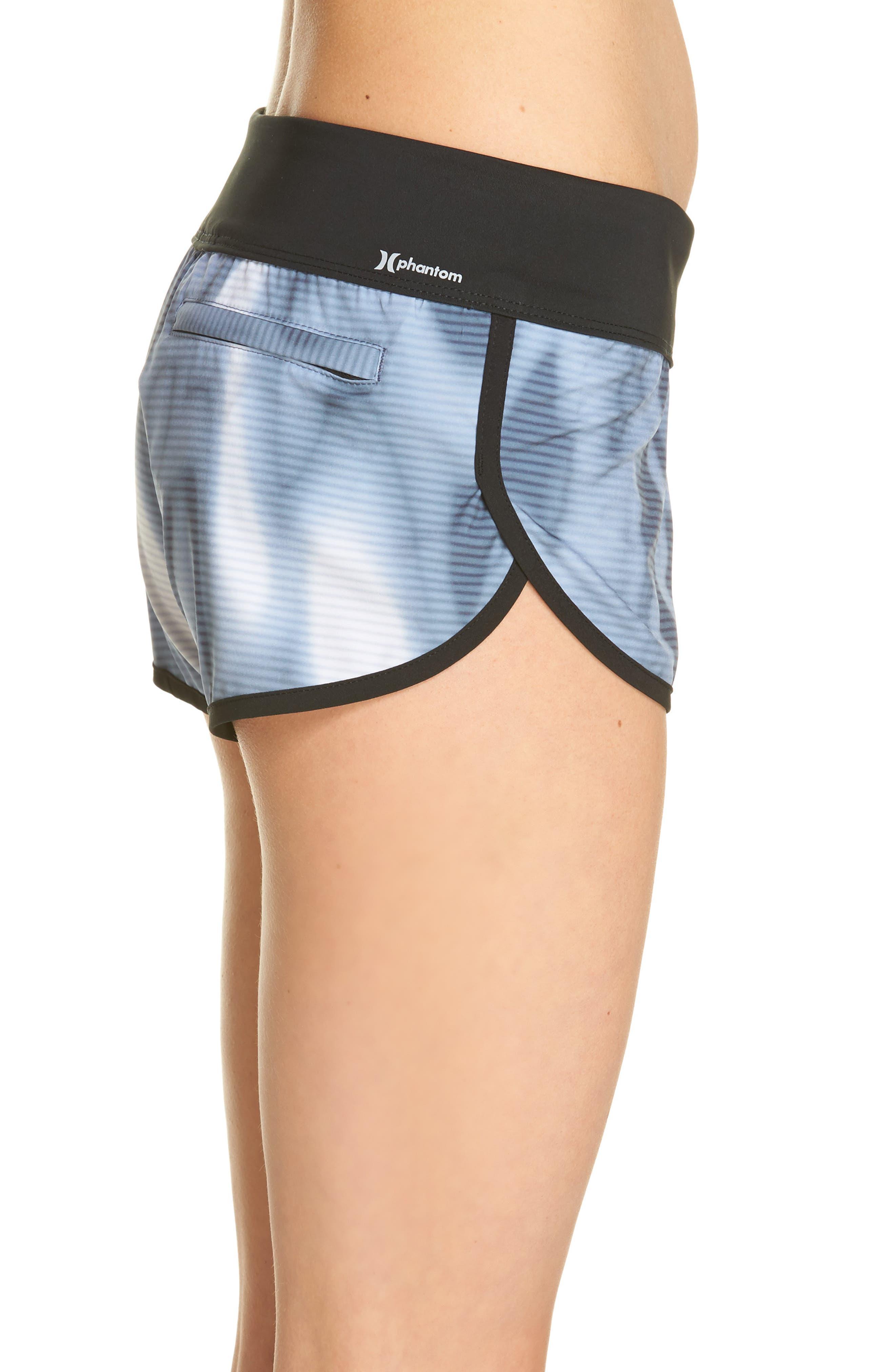 Phantom Waves Beachrider Shorts,                             Alternate thumbnail 3, color,                             401