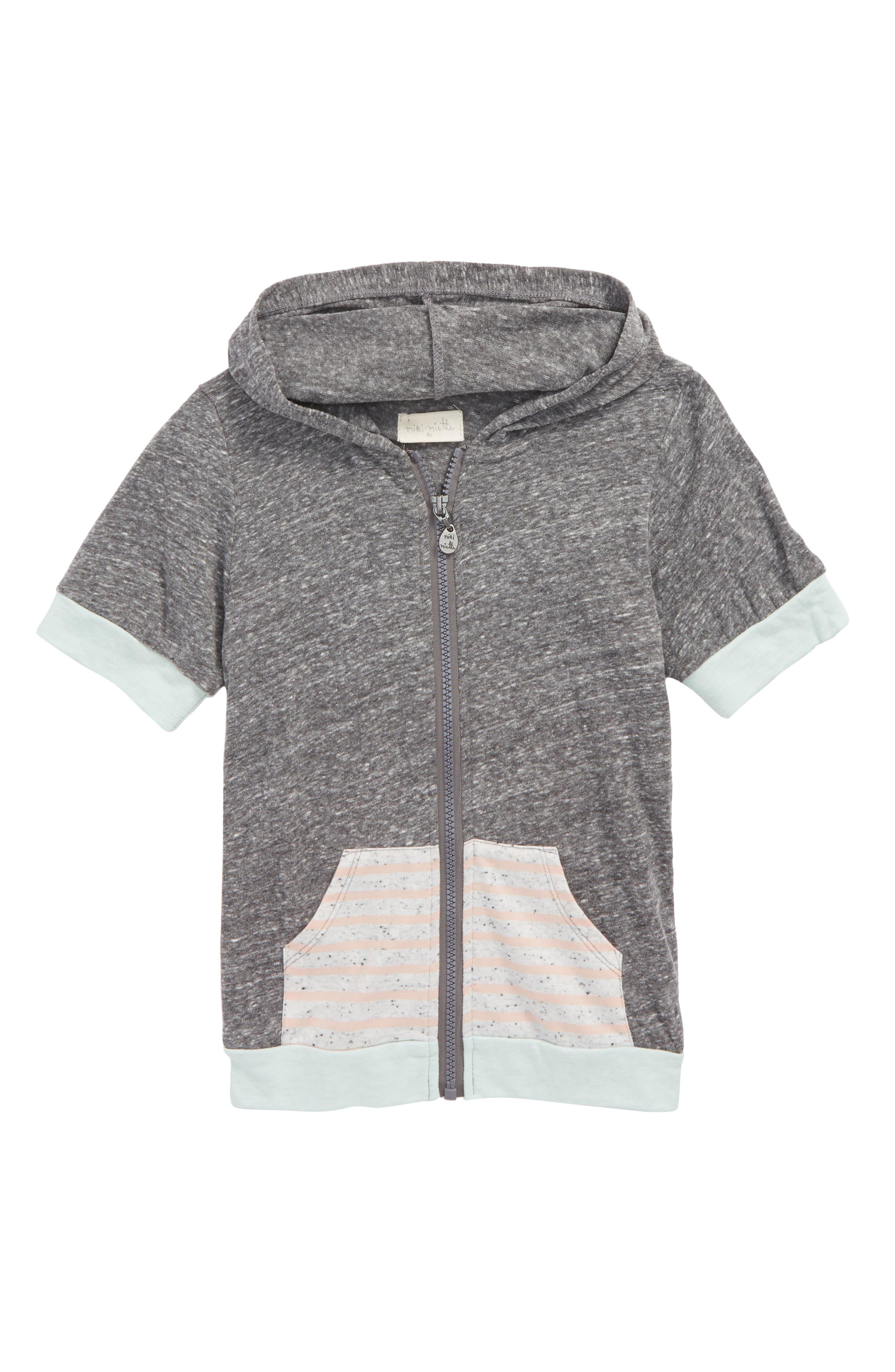Lolo Short Sleeve Hoodie,                         Main,                         color, 020