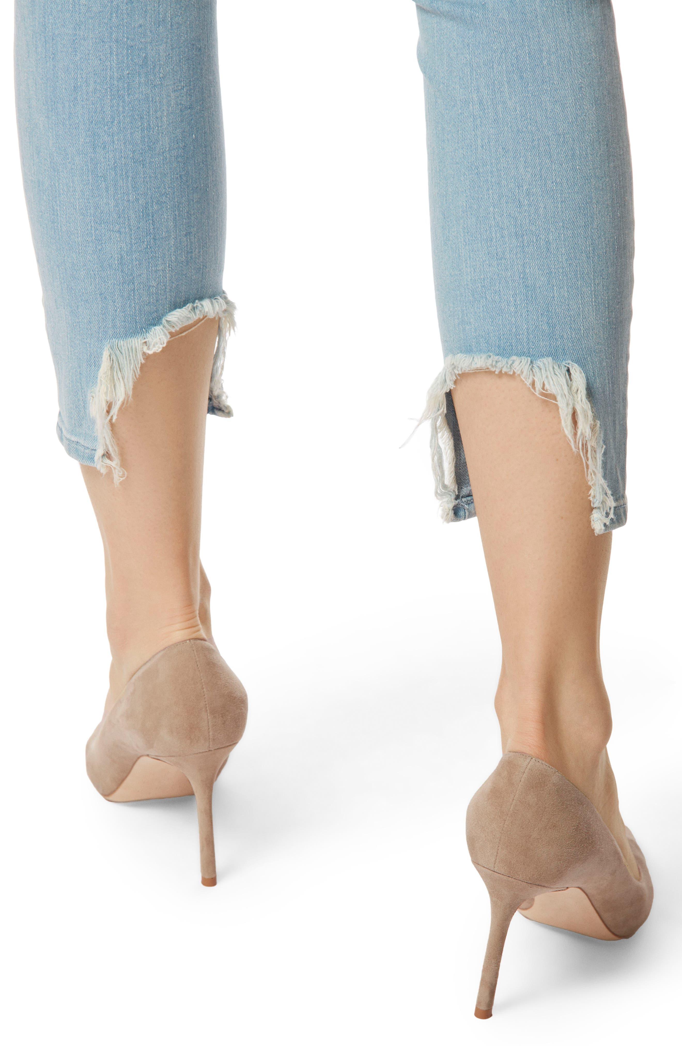 835 Capri Skinny Jeans,                             Alternate thumbnail 4, color,                             454