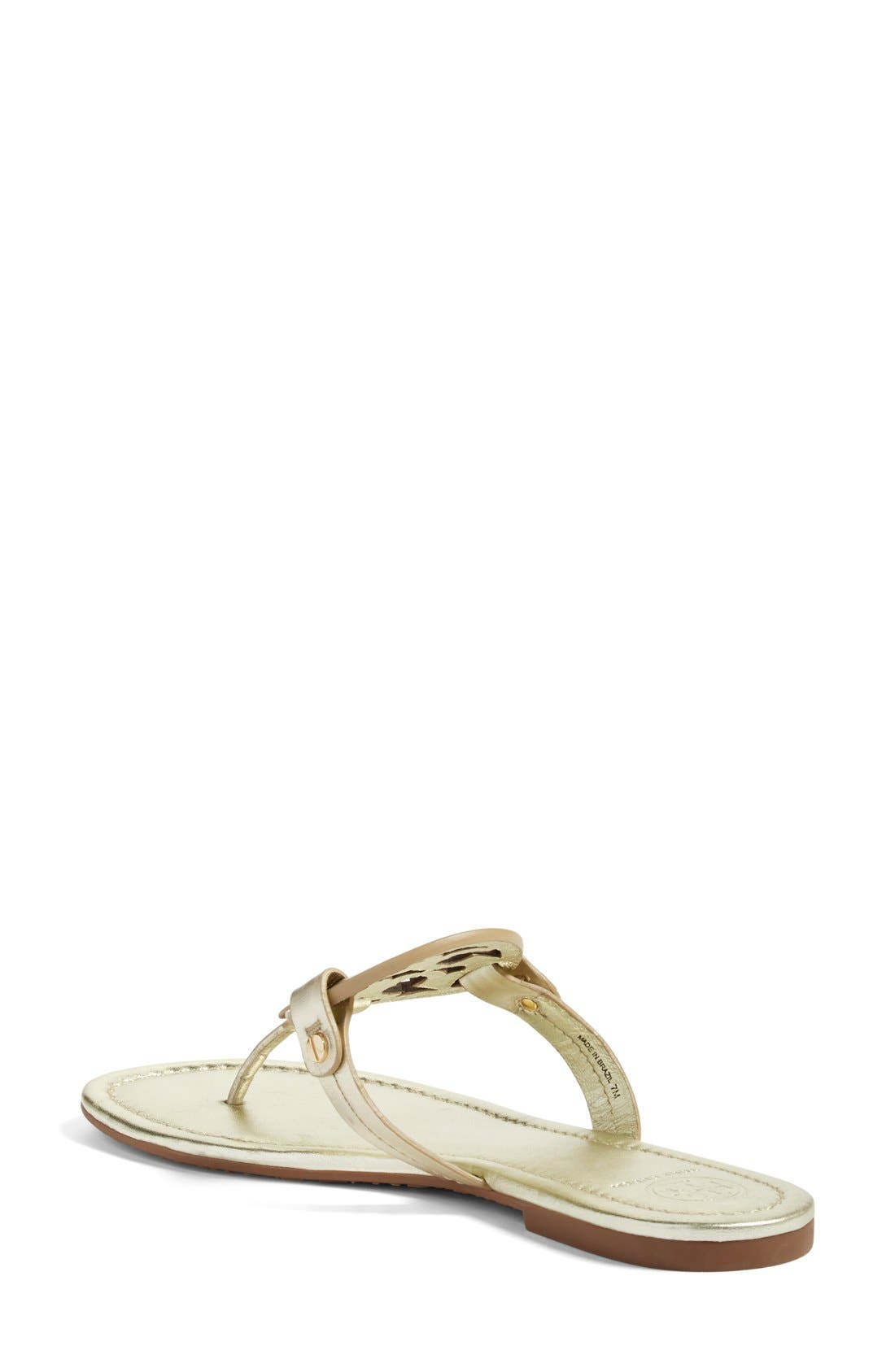 Miller Flip Flop,                             Alternate thumbnail 5, color,                             SPARK GOLD