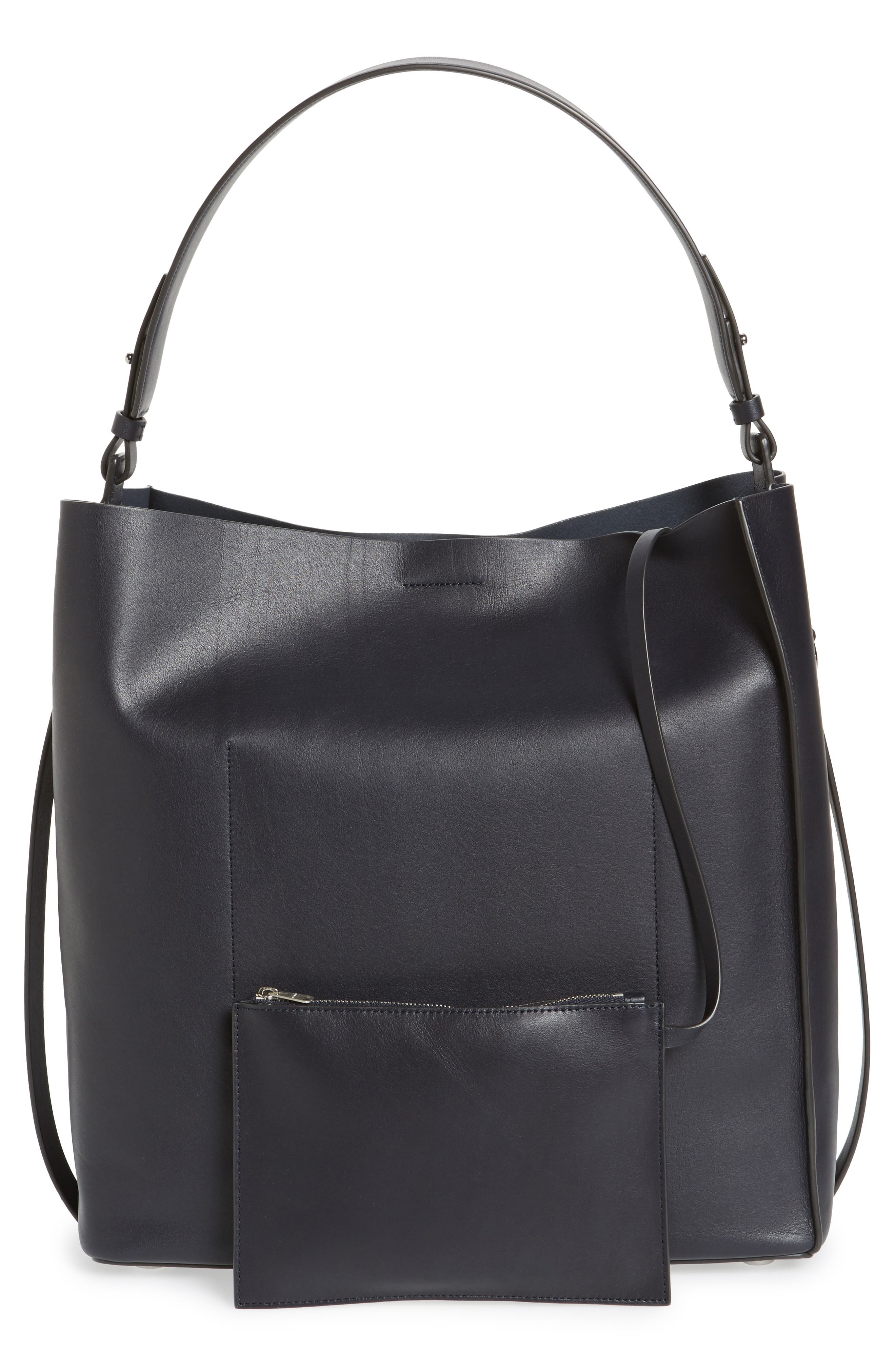 'Paradise North/South' Calfskin Leather Tote,                             Alternate thumbnail 28, color,