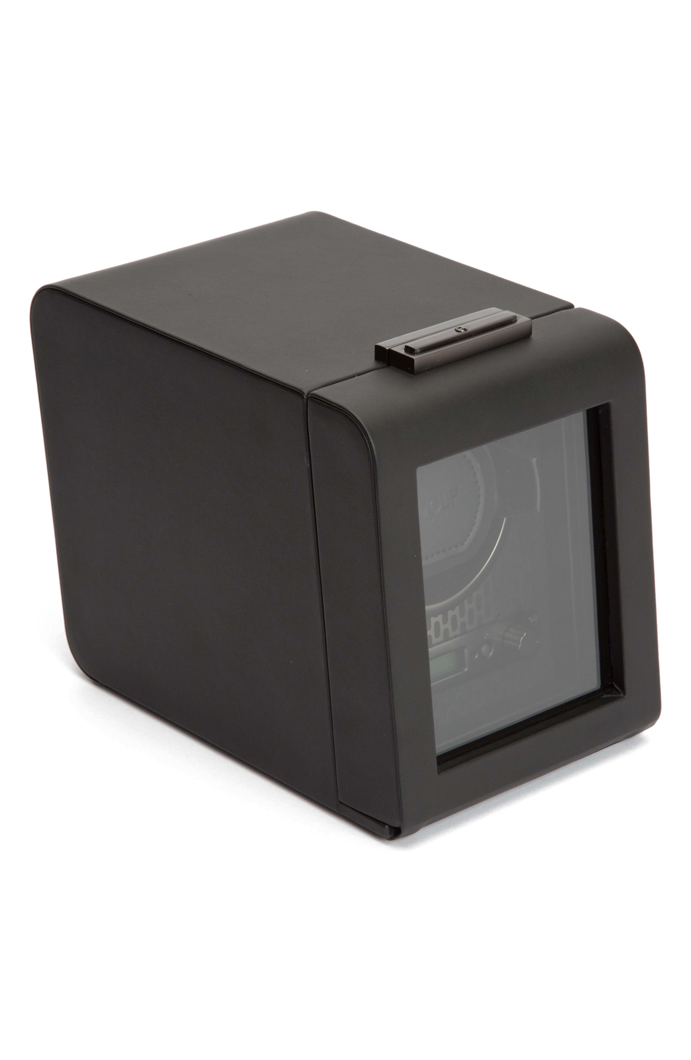 Axis Single Watch Winder,                             Alternate thumbnail 2, color,                             POWDER COAT