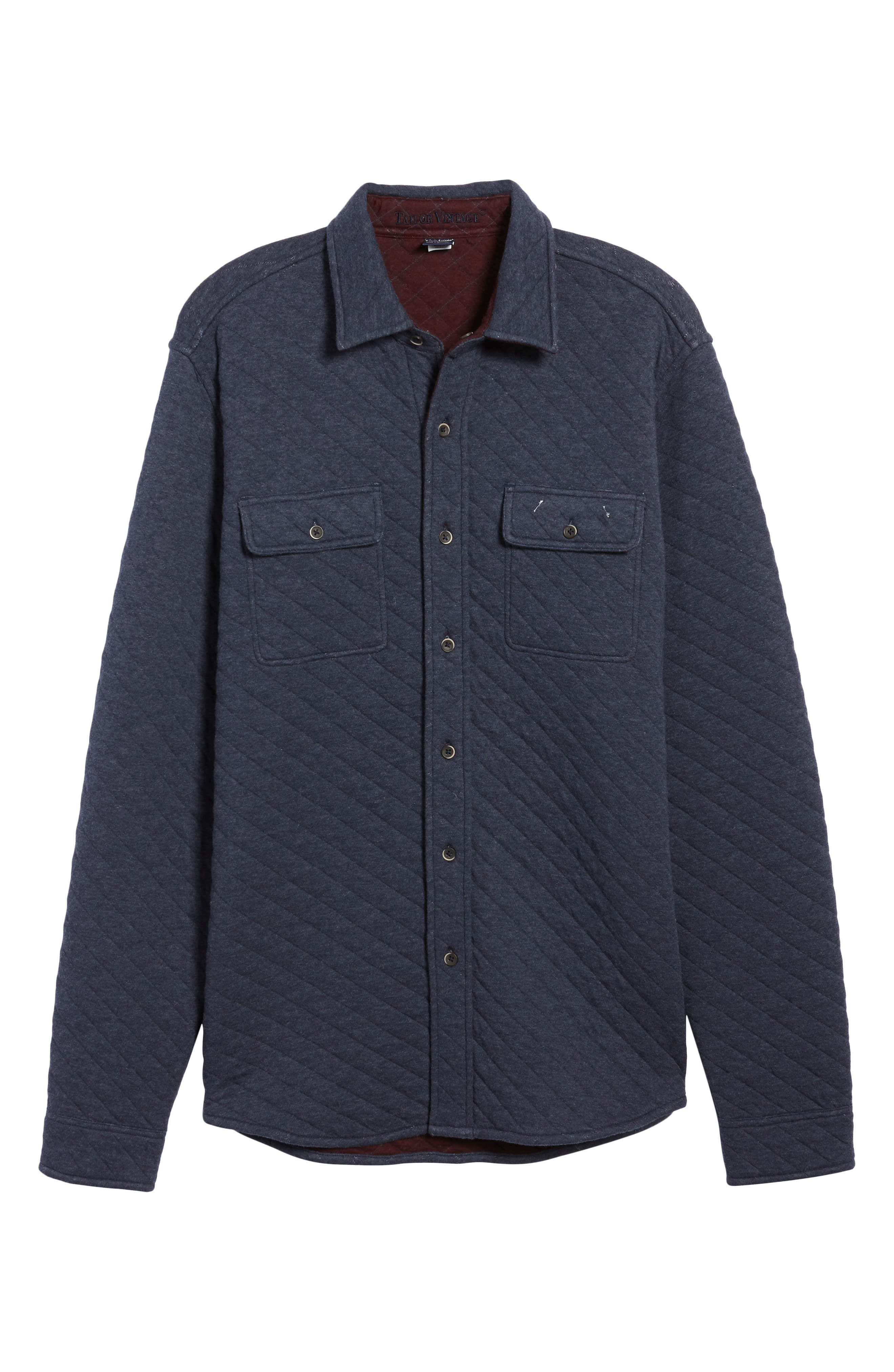 Reversible Double-Face Quilted Shirt,                             Alternate thumbnail 12, color,