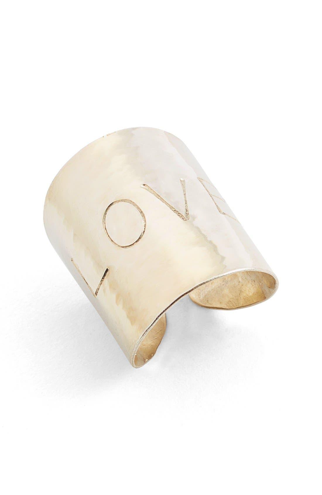 Love Cuff Ring,                         Main,                         color, 040