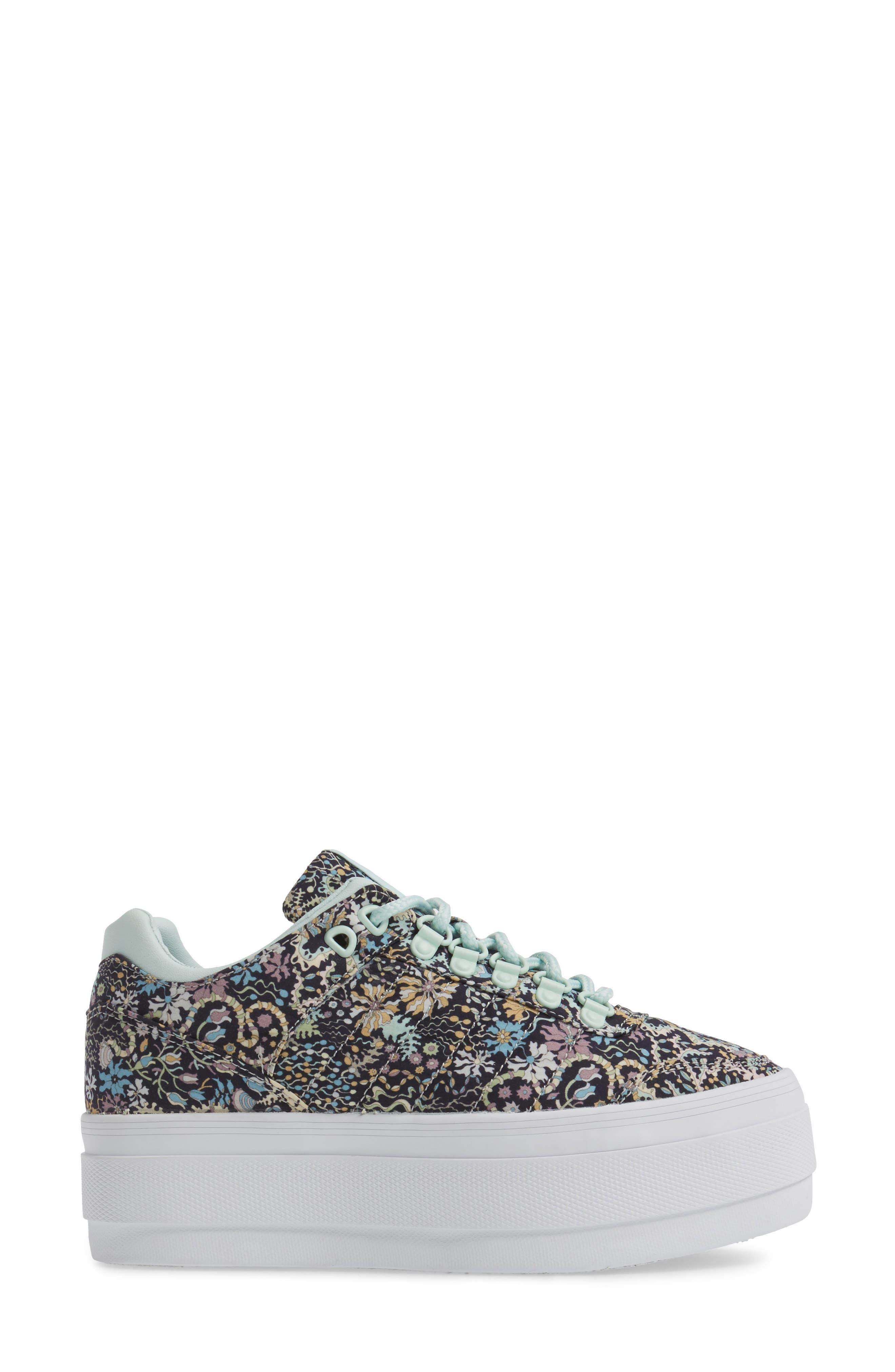 Gstaad Flatform Sneaker,                             Alternate thumbnail 3, color,                             040