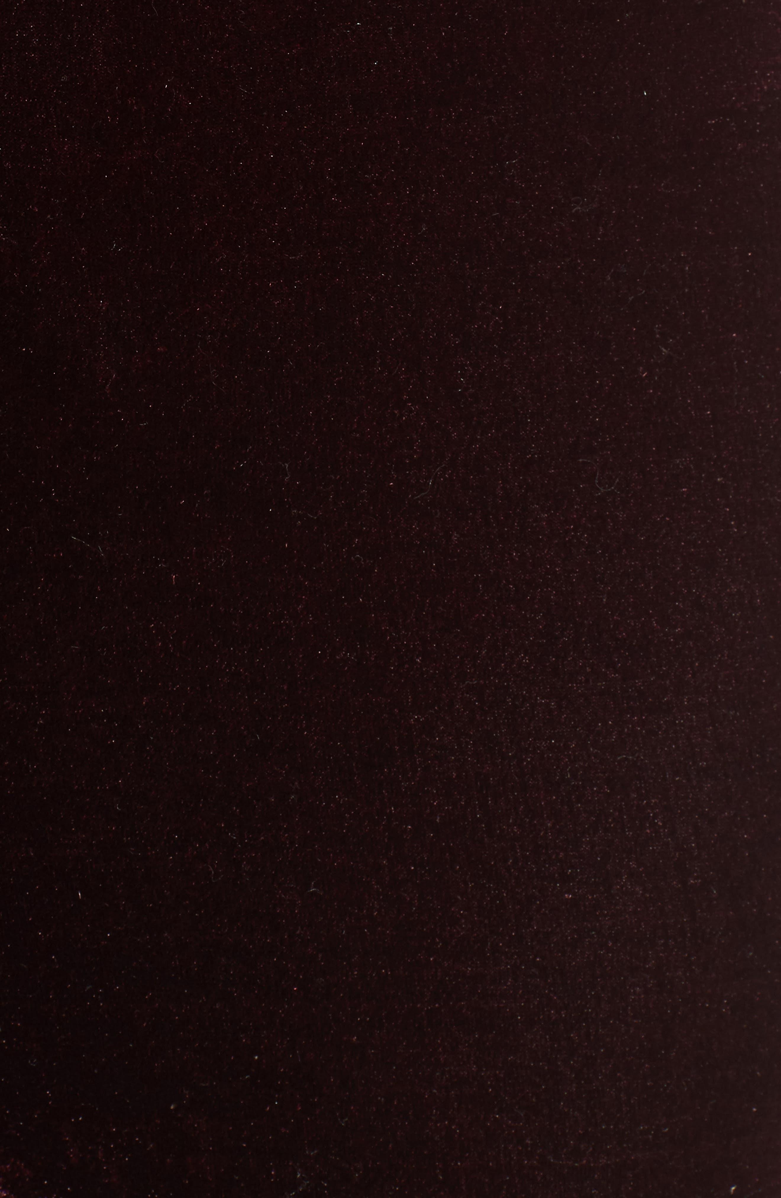 Evalina Velvet Crop Skinny Pants,                             Alternate thumbnail 10, color,