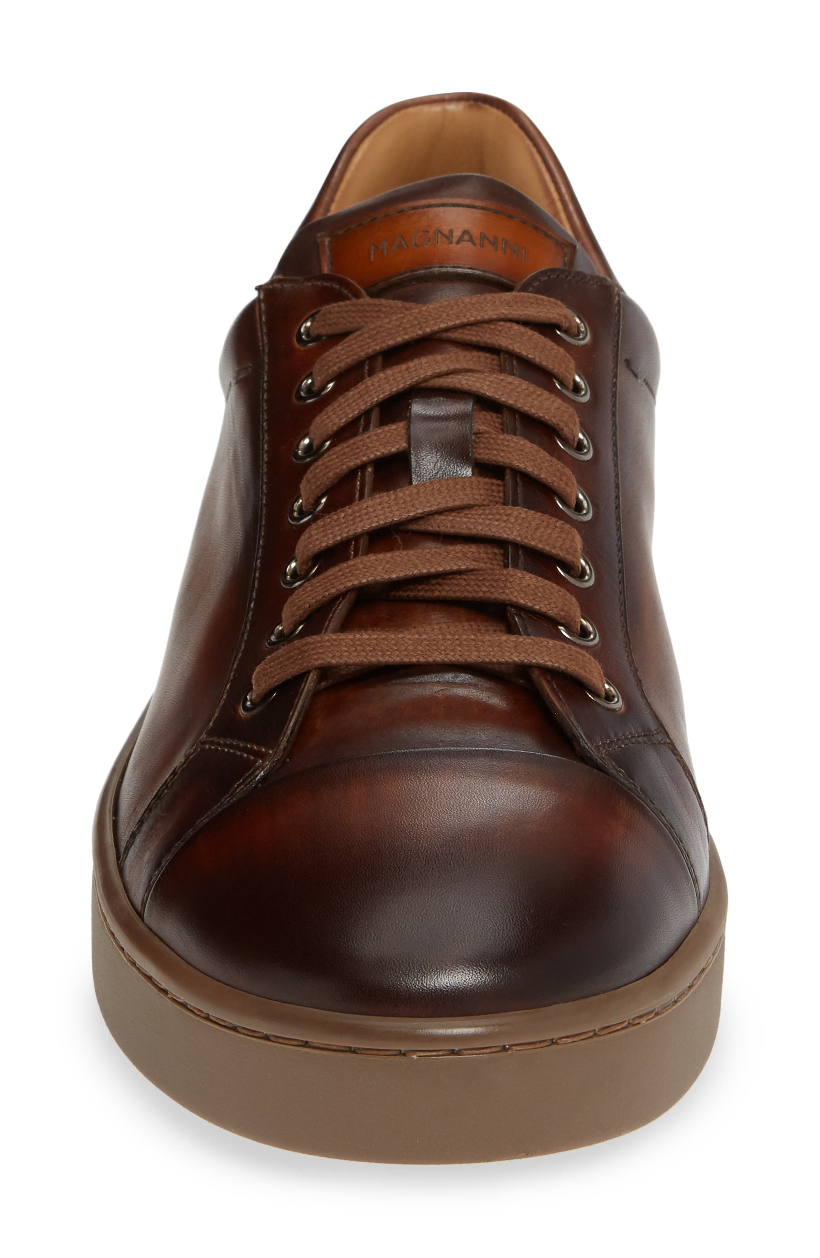 Caitin Sneaker,                             Alternate thumbnail 4, color,                             TABACO LEATHER